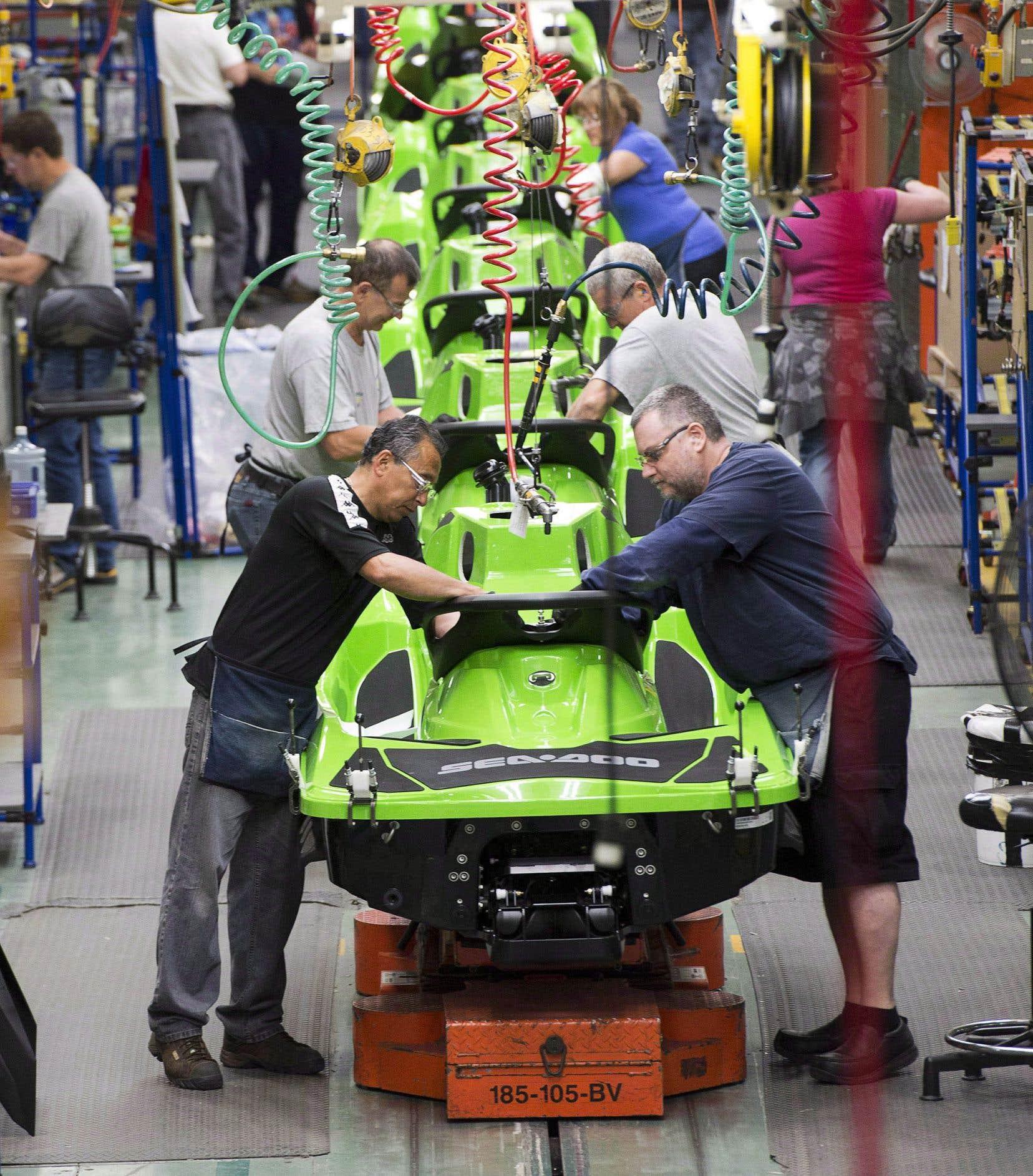 Le constructeur québécois BRP s'attend à devoir investir 10millions l'année prochaine aux États-Unis en raison de la nouvelle version de l'Accord de libre-échange nord-américain.