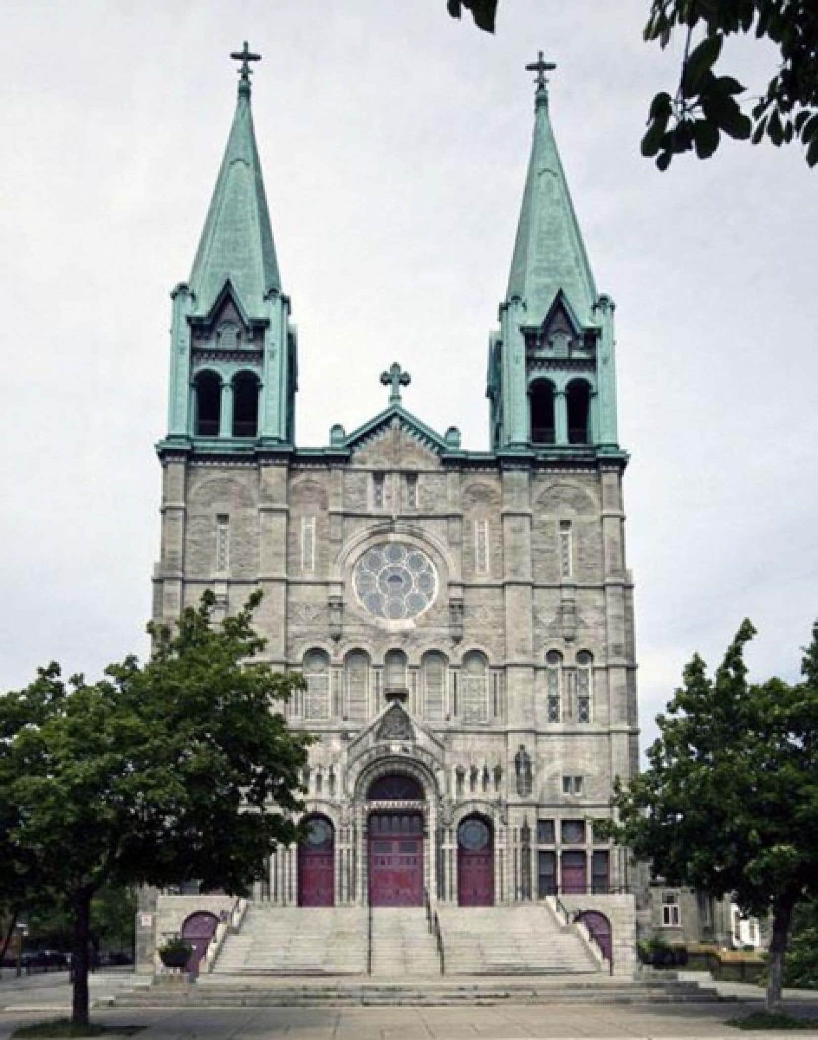 L'église du Très-Saint-Nom-de-Jésus à Montréal