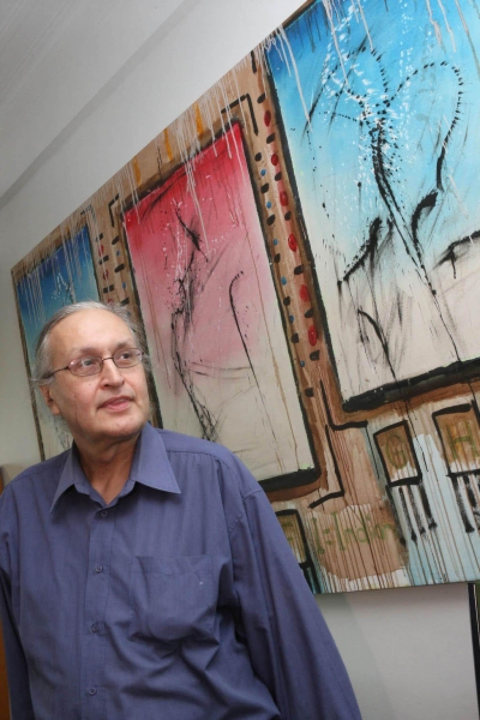 André Dudemaine, président et fondateur de Présence autochtone