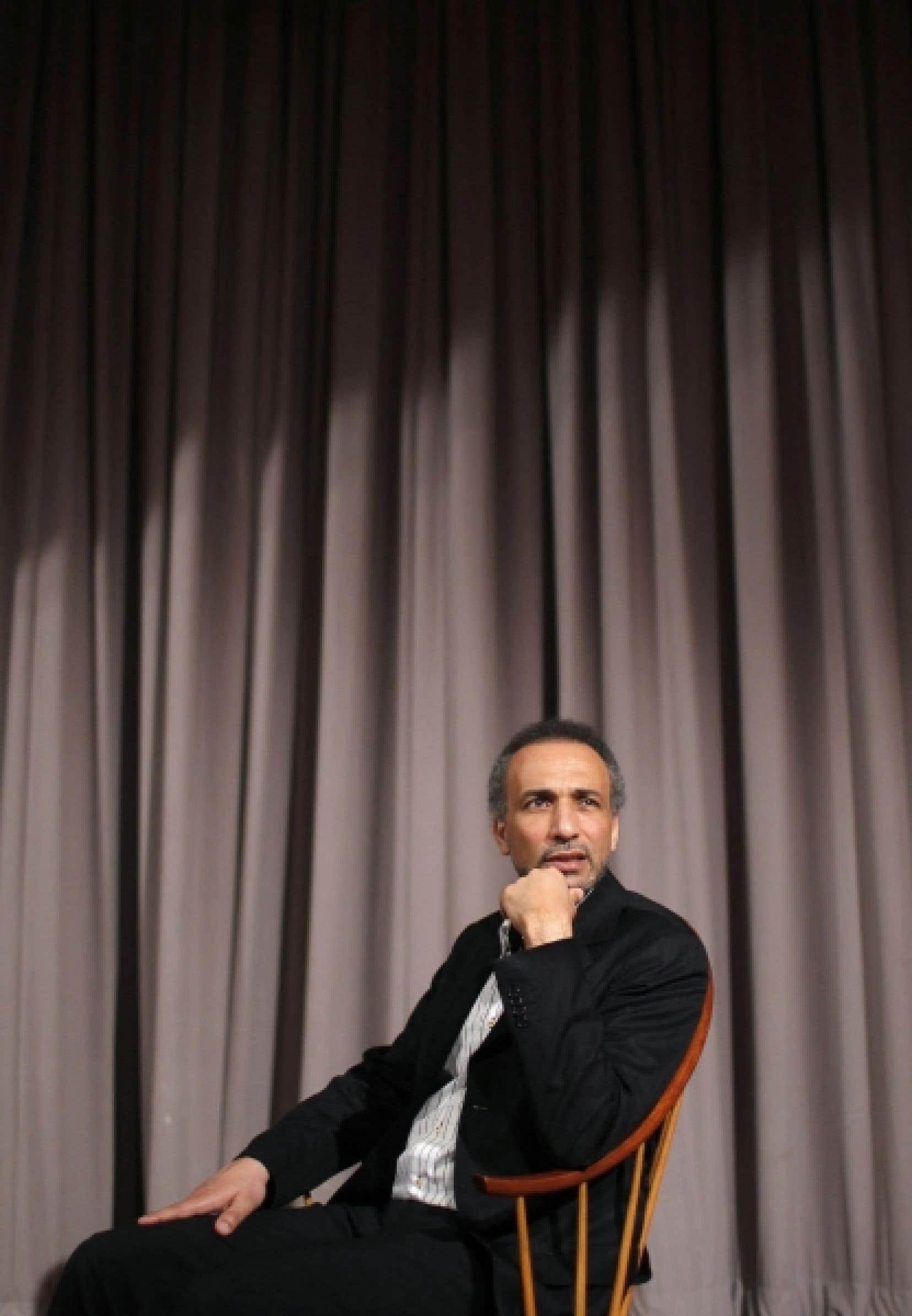 Tariq Ramadan, photographié à New York le 8 avril dernier. Time Magazine l'a rangé il y a quelques années comme l'un des 100 intellectuels les plus influents dans le monde.