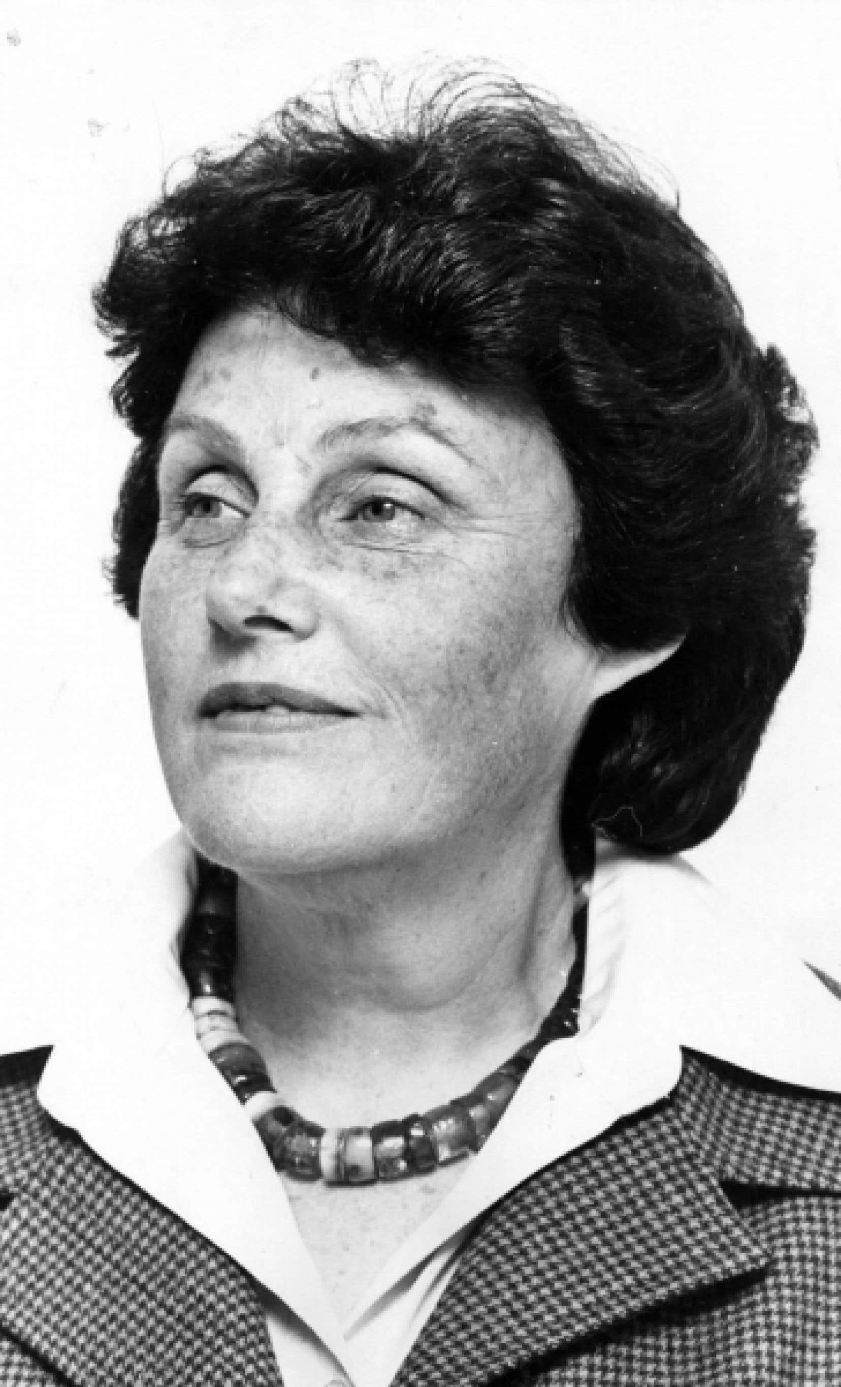 Renée Rowan en 1978<br />