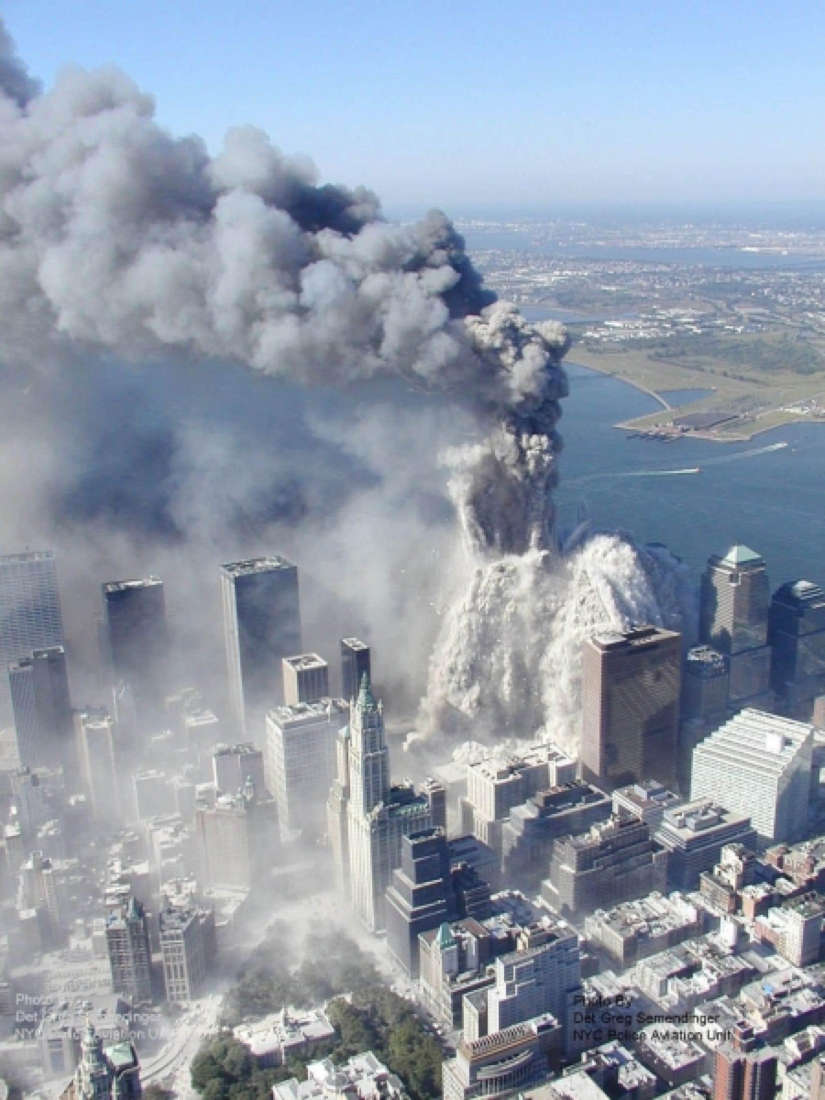 Dans la foulée du 11-Septembre, George W. Bush avait déclaré «la guerre» au terrorisme.<br />