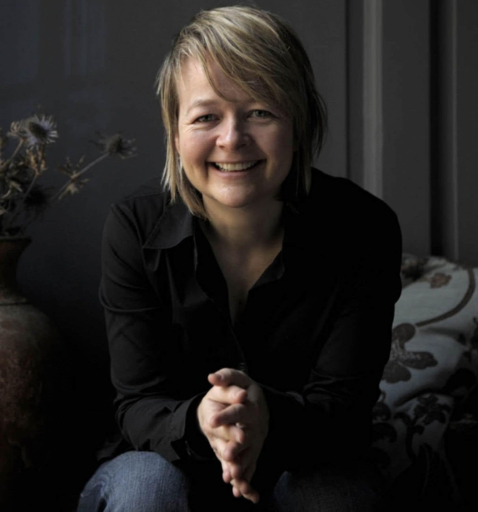L'écrivaine britannique Sarah Waters<br />