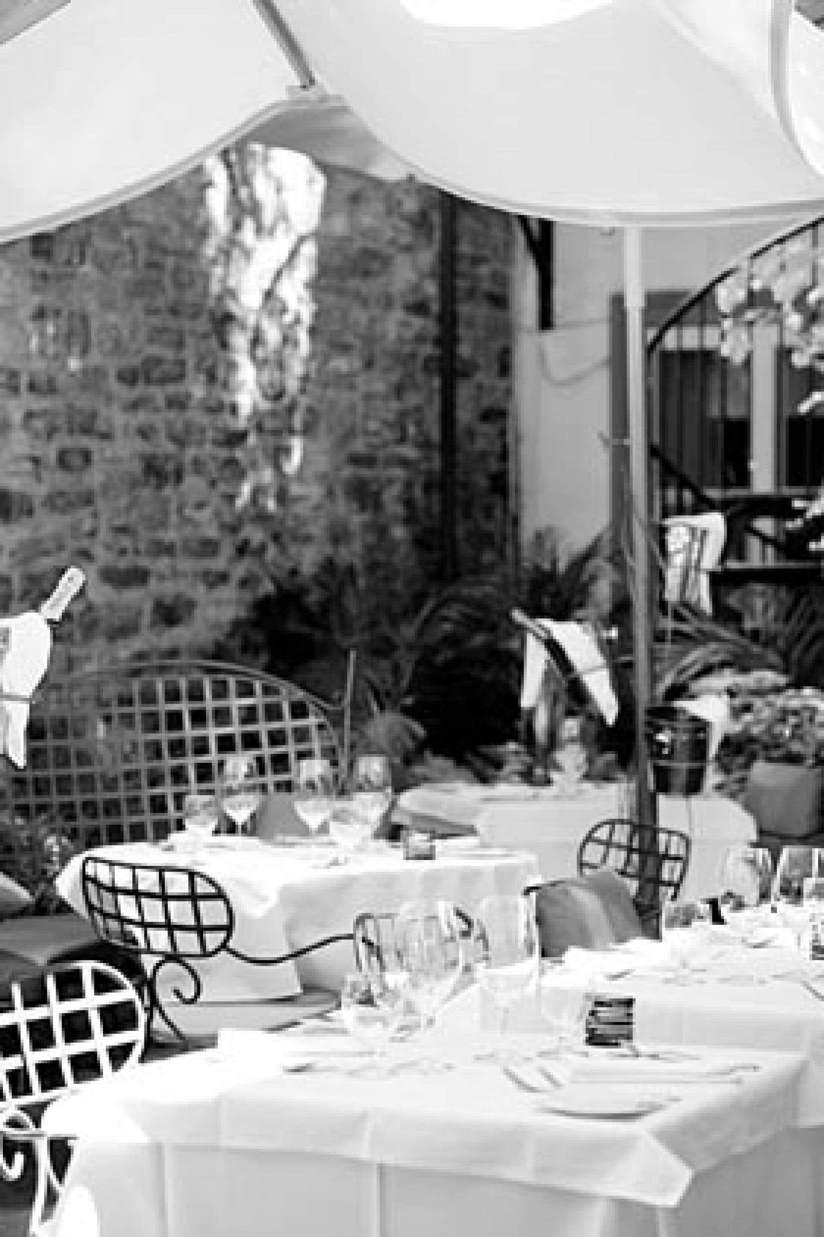 La terrasse du Toast! est impressionnante et accessible même lors des soirées fraîches.