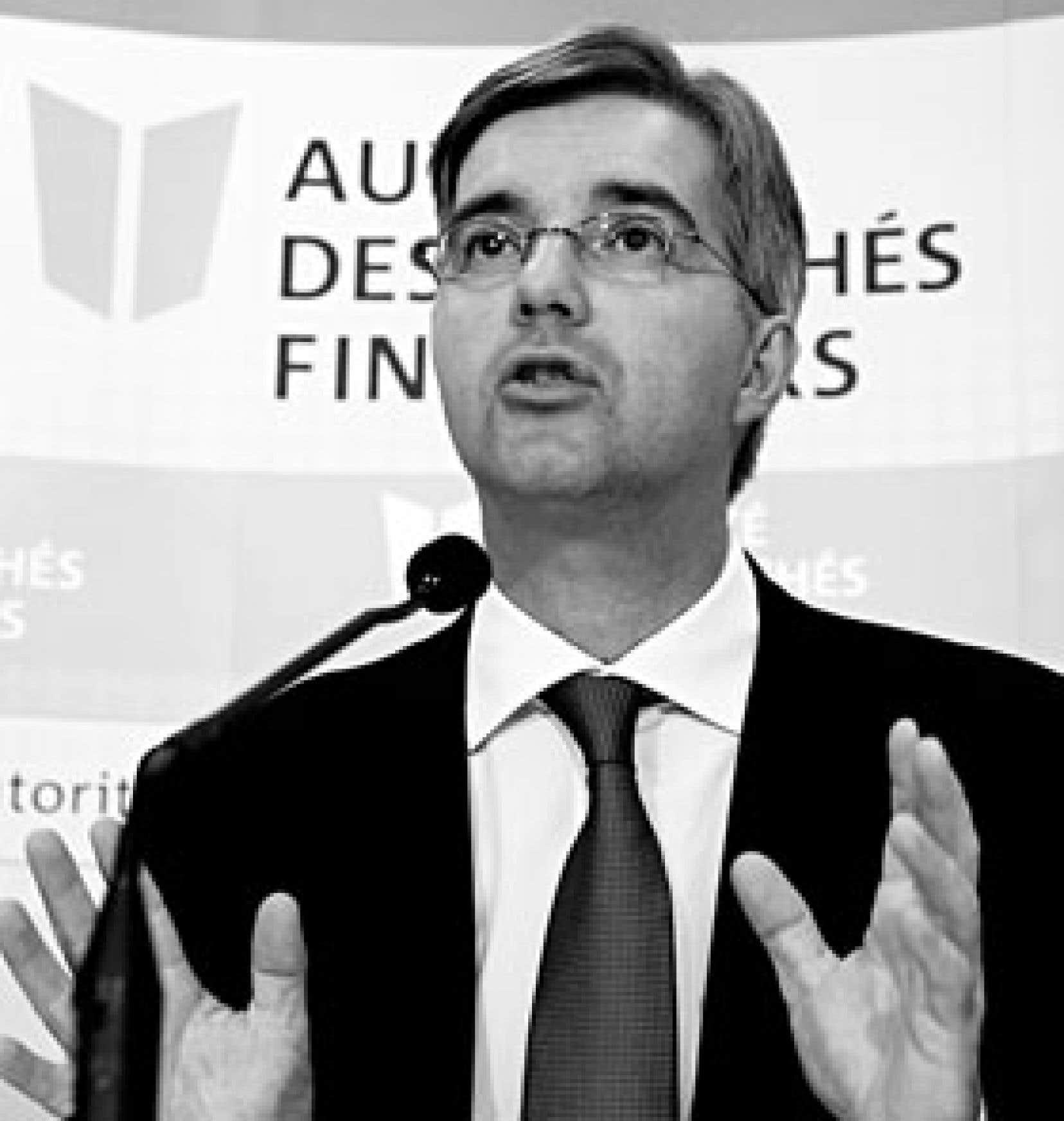 Jean Saint-Gelais, président de l'AMF