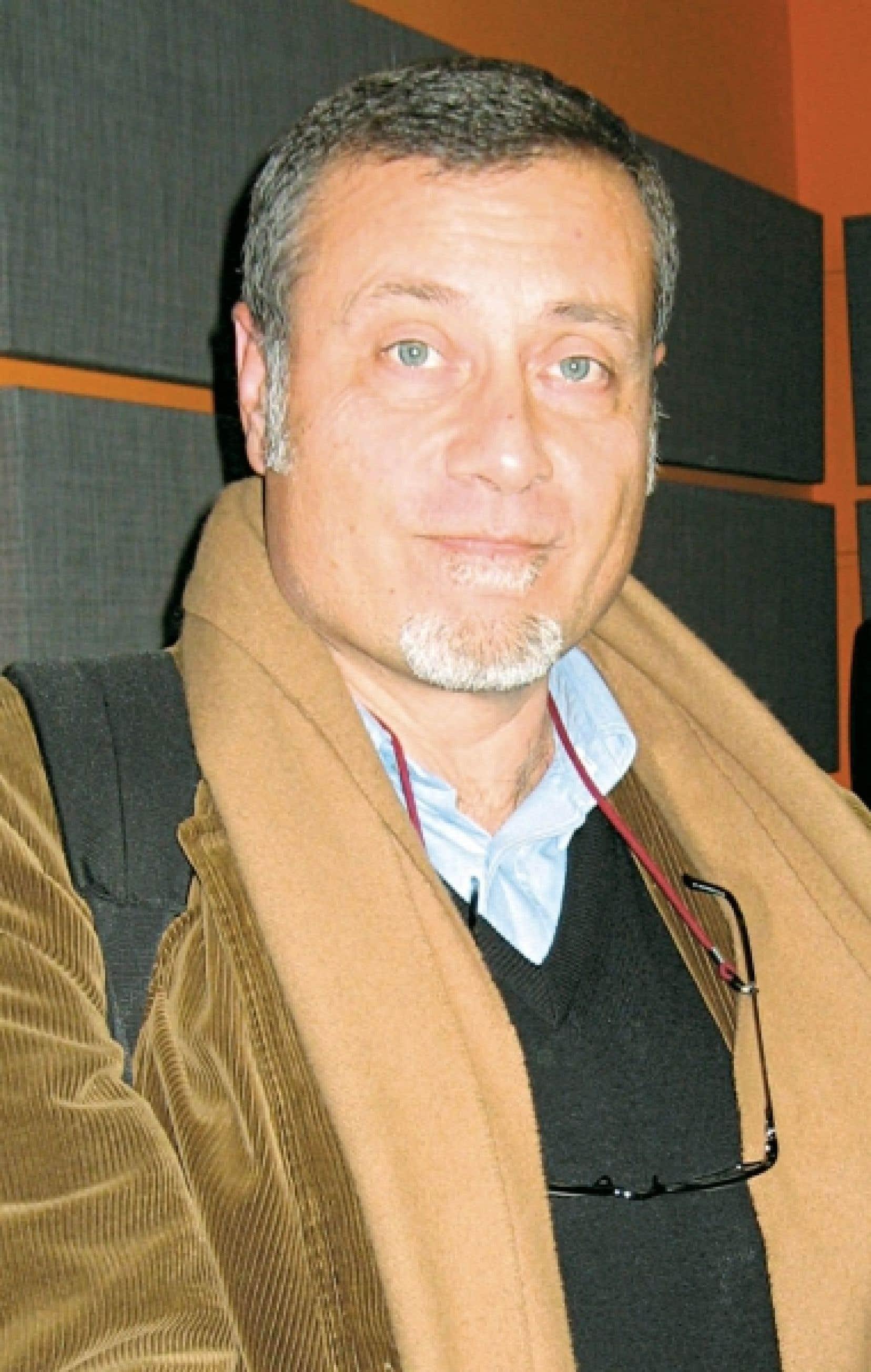 L'écrivain Massimo Carlotto