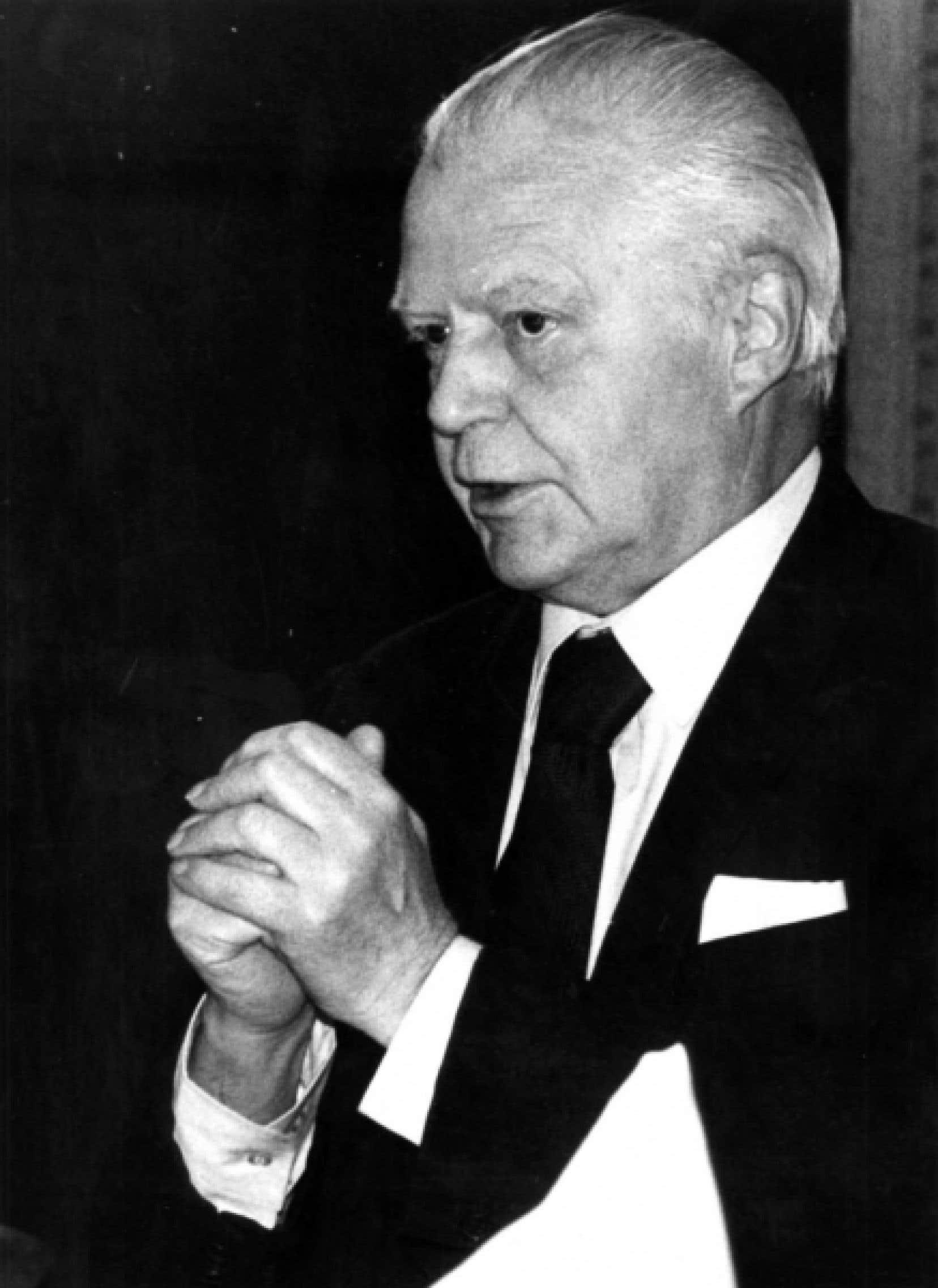 Jean-Marc Léger, ancien journaliste du Devoir.<br />