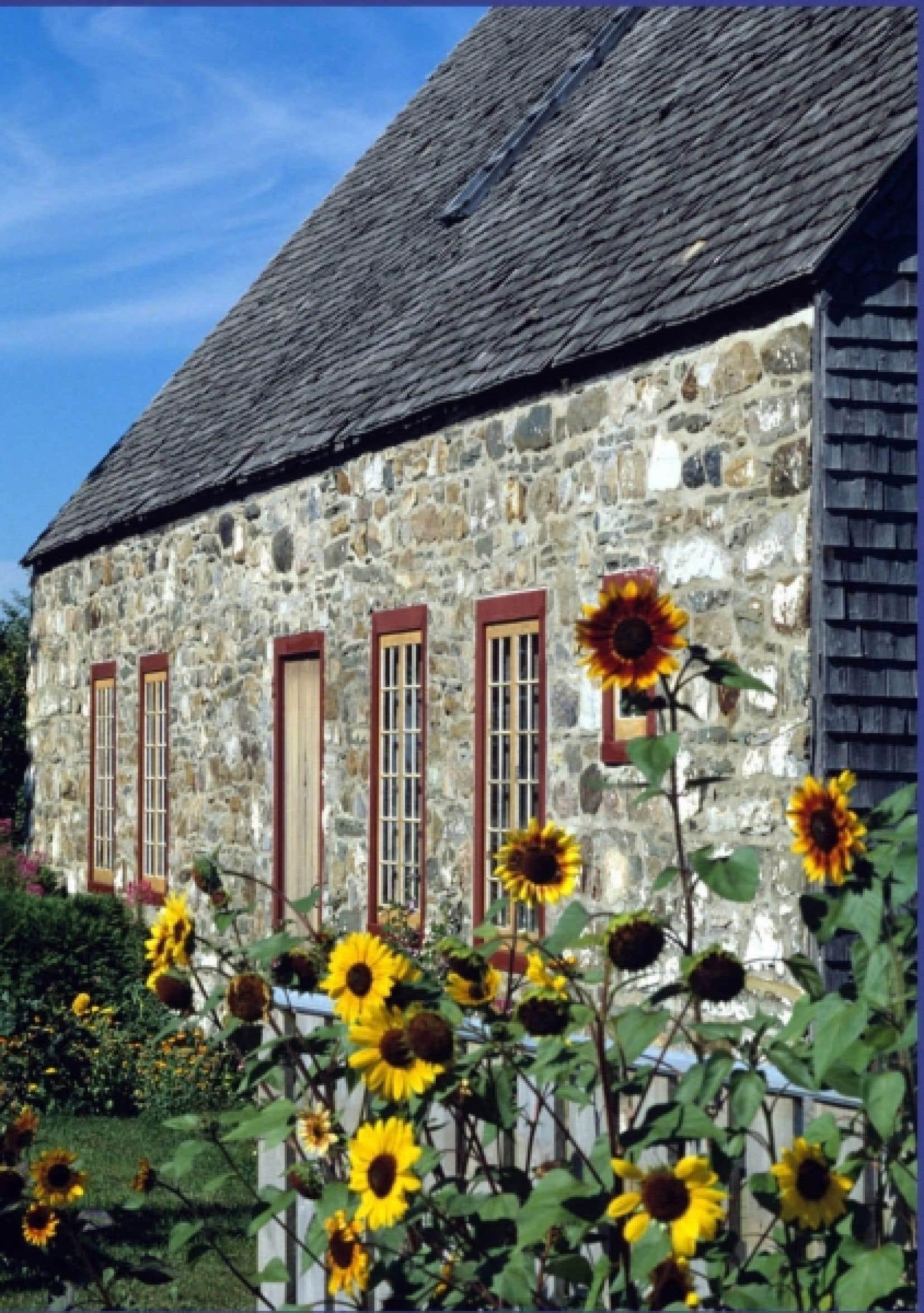 Une maison de l'Île d'Orléans<br />