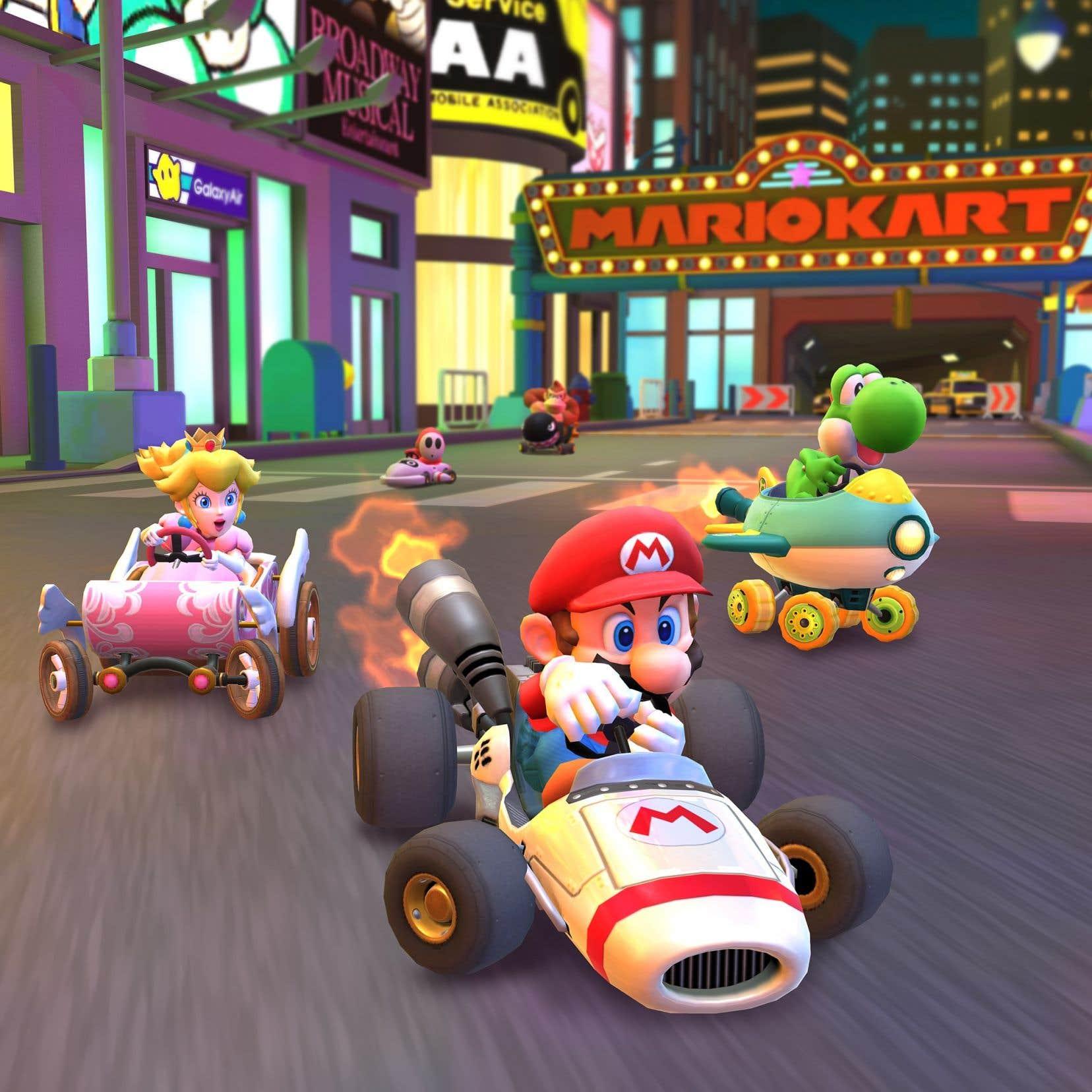 Mario Kart Tour»: tous les coureurs ne sont pas égaux | Le Devoir