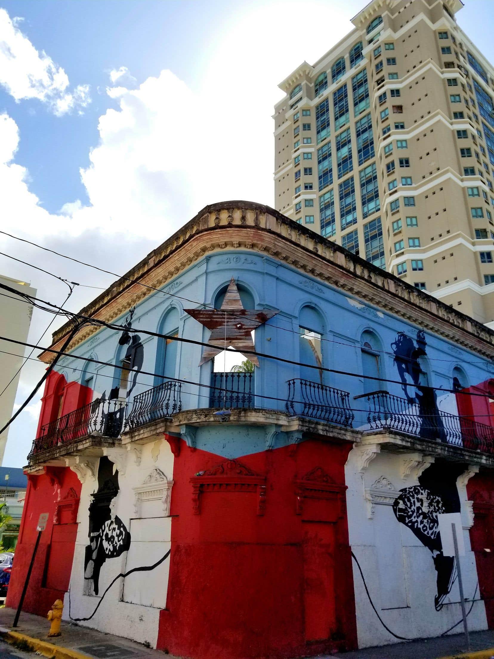 L'art urbain est partout à San Juan et a très souvent une portée politique.