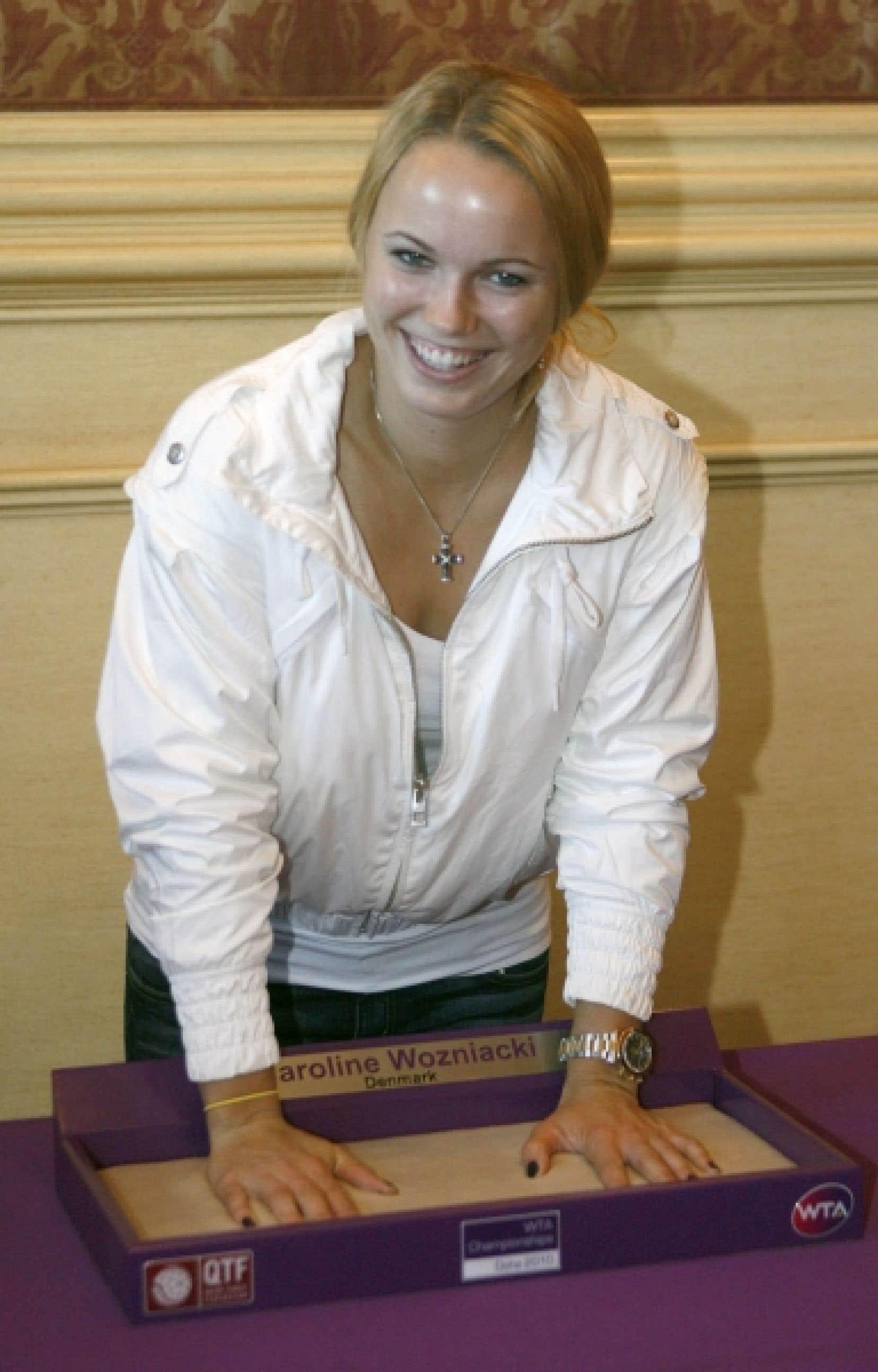 Caroline Wozniacki<br />