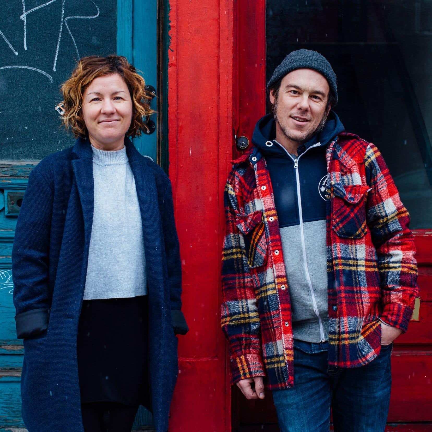 Le duo folk Saratoga: Chantal Archambault et Michel-Olivier Gasse