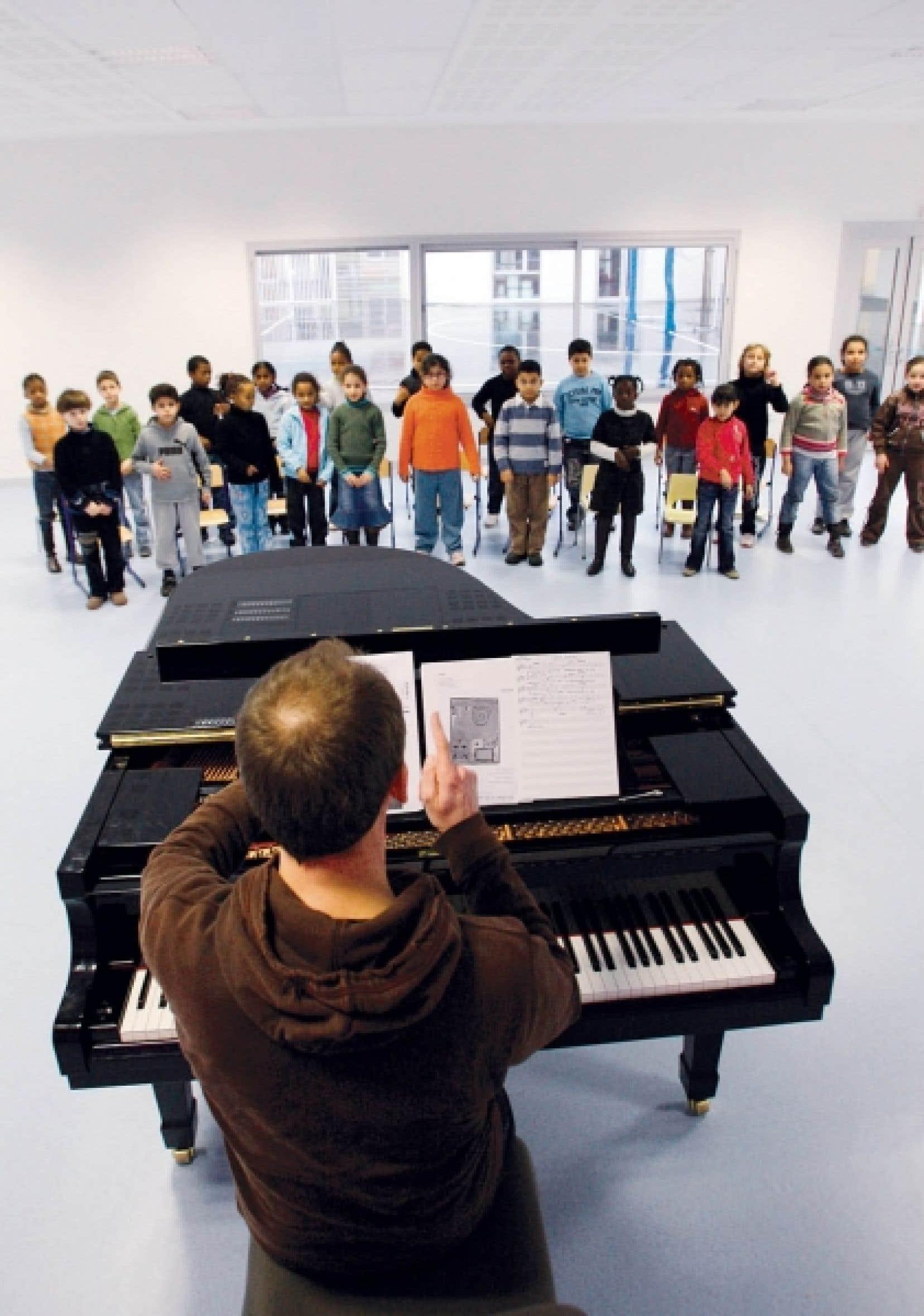 La patience et la passion sont des éléments essentiels quand on enseigne la musique, dit Hélène Laiberté, présidente de la Fédération des associations de musiciens éducateurs du Québec. «J'ajouterais de plus qu'enseigner la musique est un acte de création en soi.»<br />