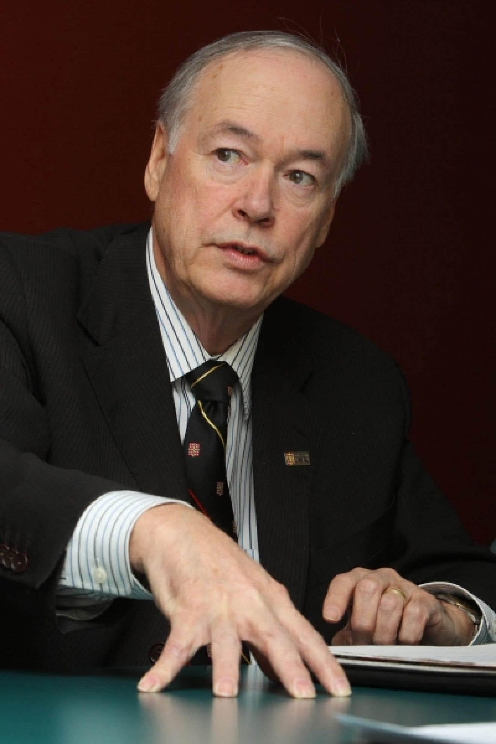 Denis Brière, président du Conseil d'administration de la CREPUQ.