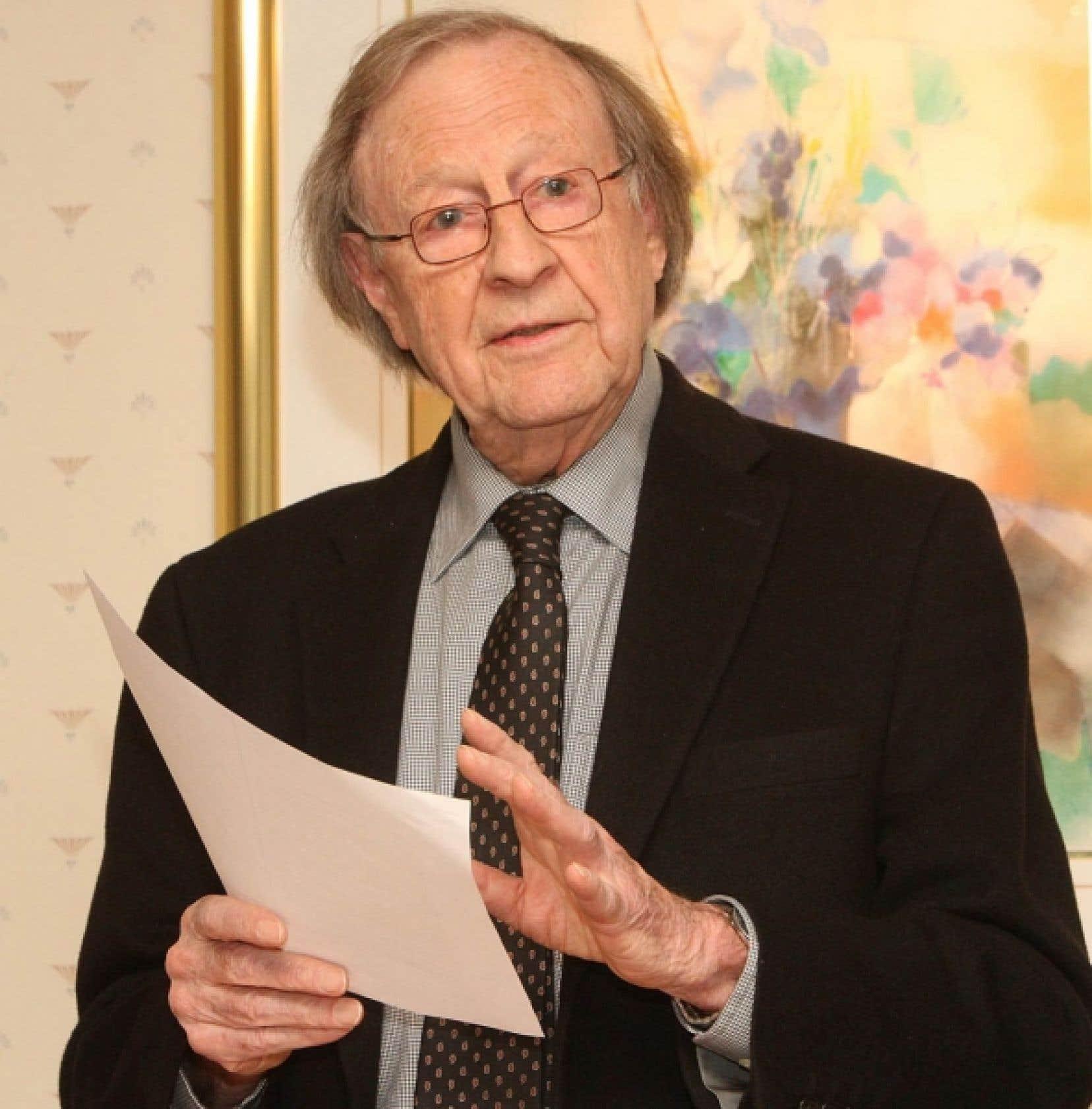 Le sociologue Guy Rocher, qui se définit comme «un vieux chercheur de la vie universitaire», a vu sa vie professionnelle se transformer au cours des 50 dernières années. <br />