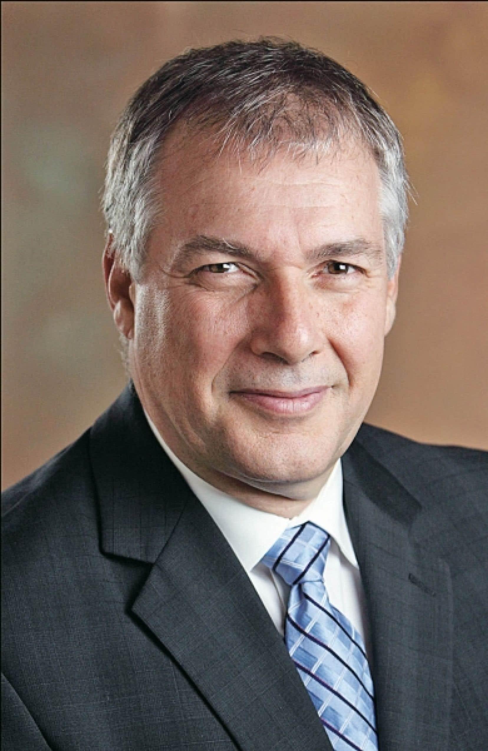Le directeur général de l'INRS, Daniel Coderre<br />