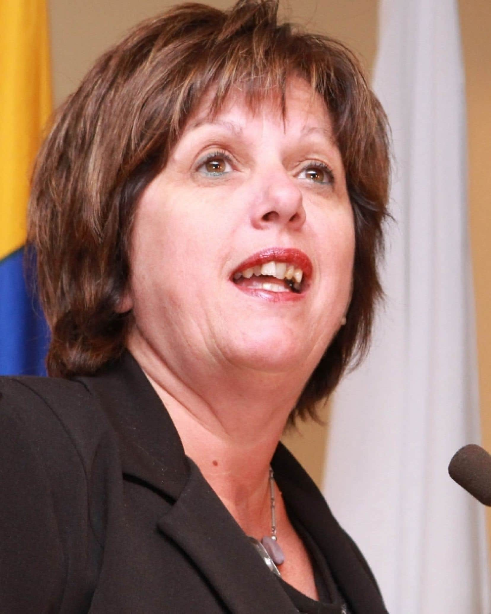 Sylvie Vachon, présidente-directrice générale de l'Administration portuaire de Montréal.<br />
