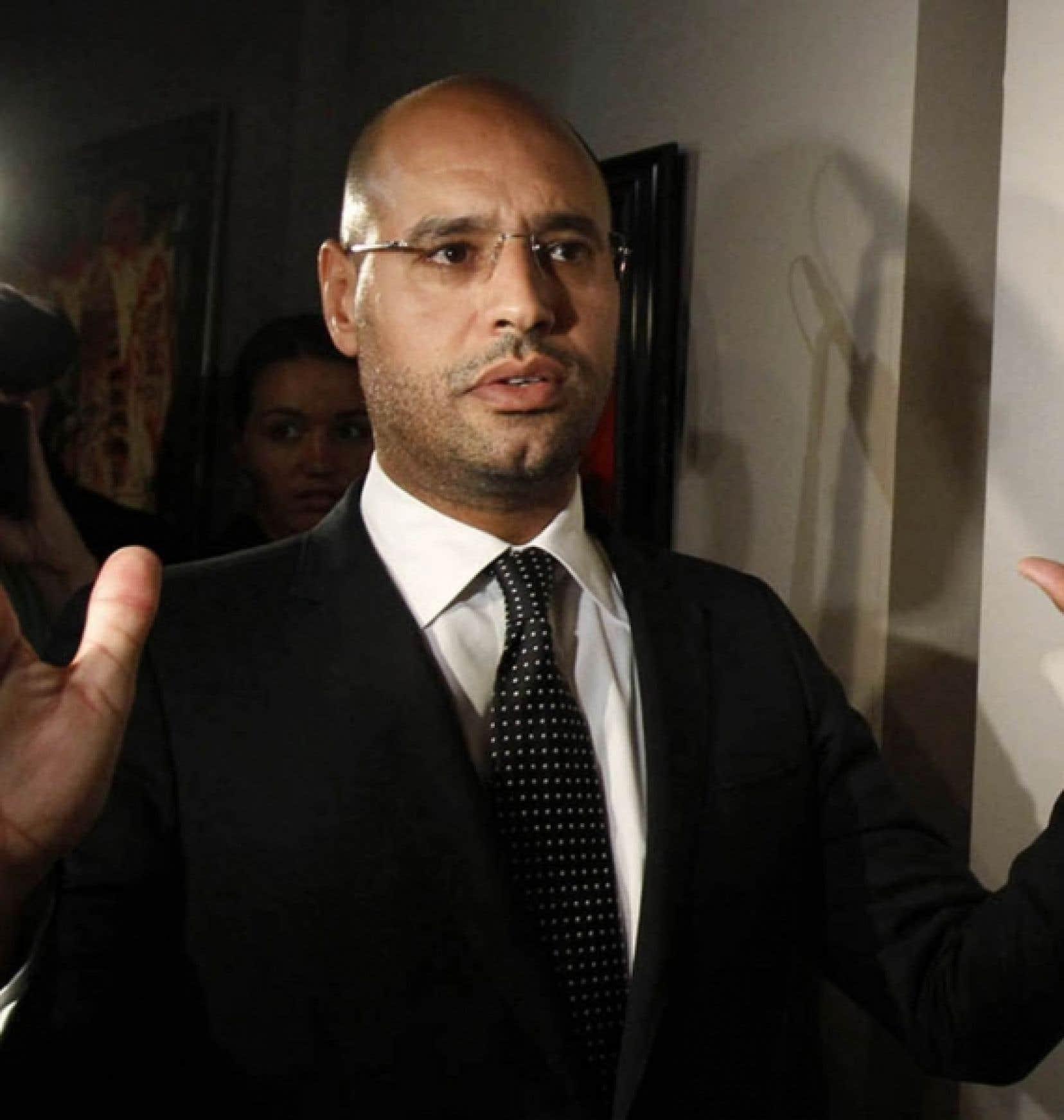 Saif al Islam Kadhafi<br />