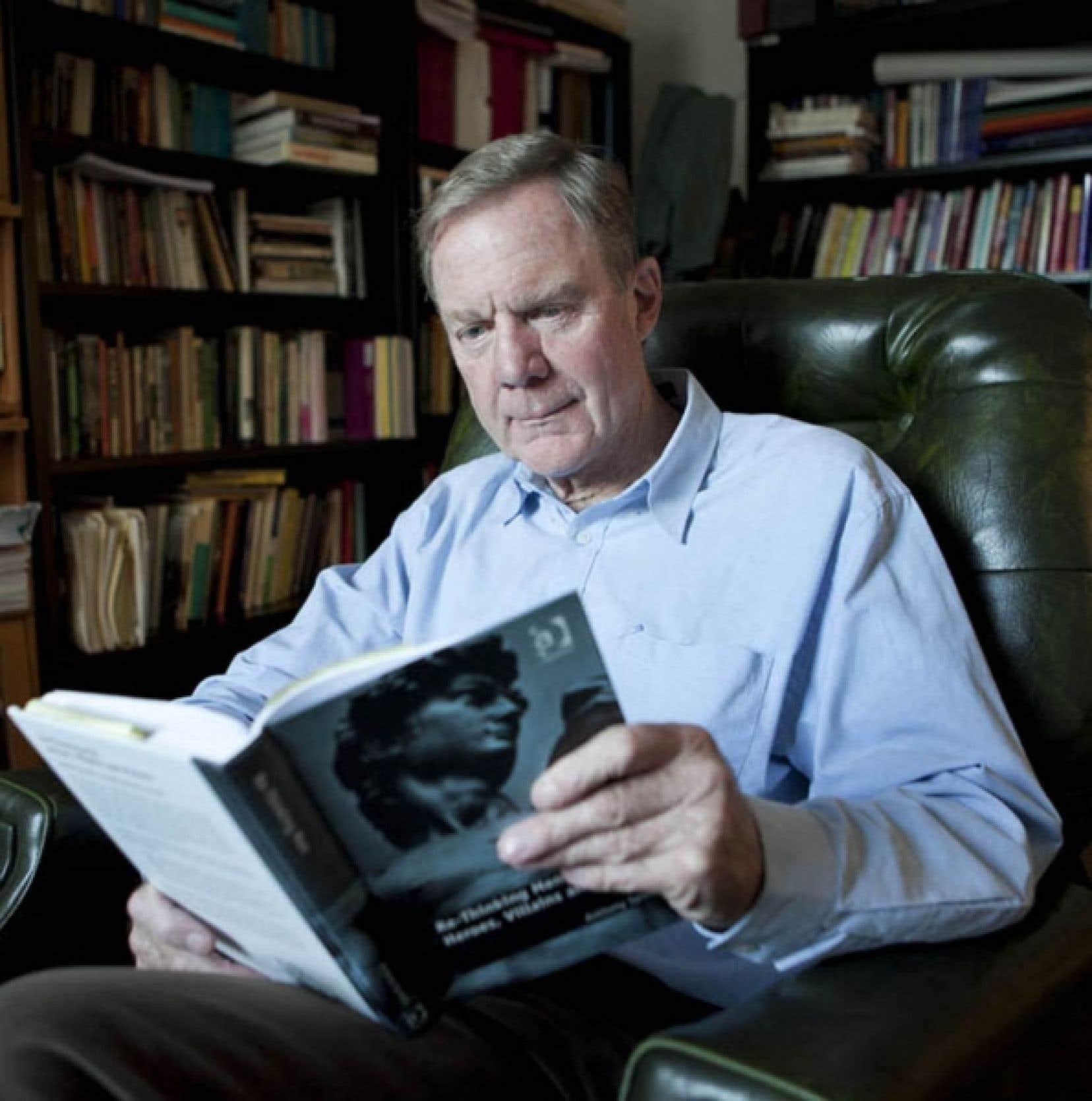 Anthony Synnott, sociologue de l&rsquo;Universit&eacute; Concordia<br />