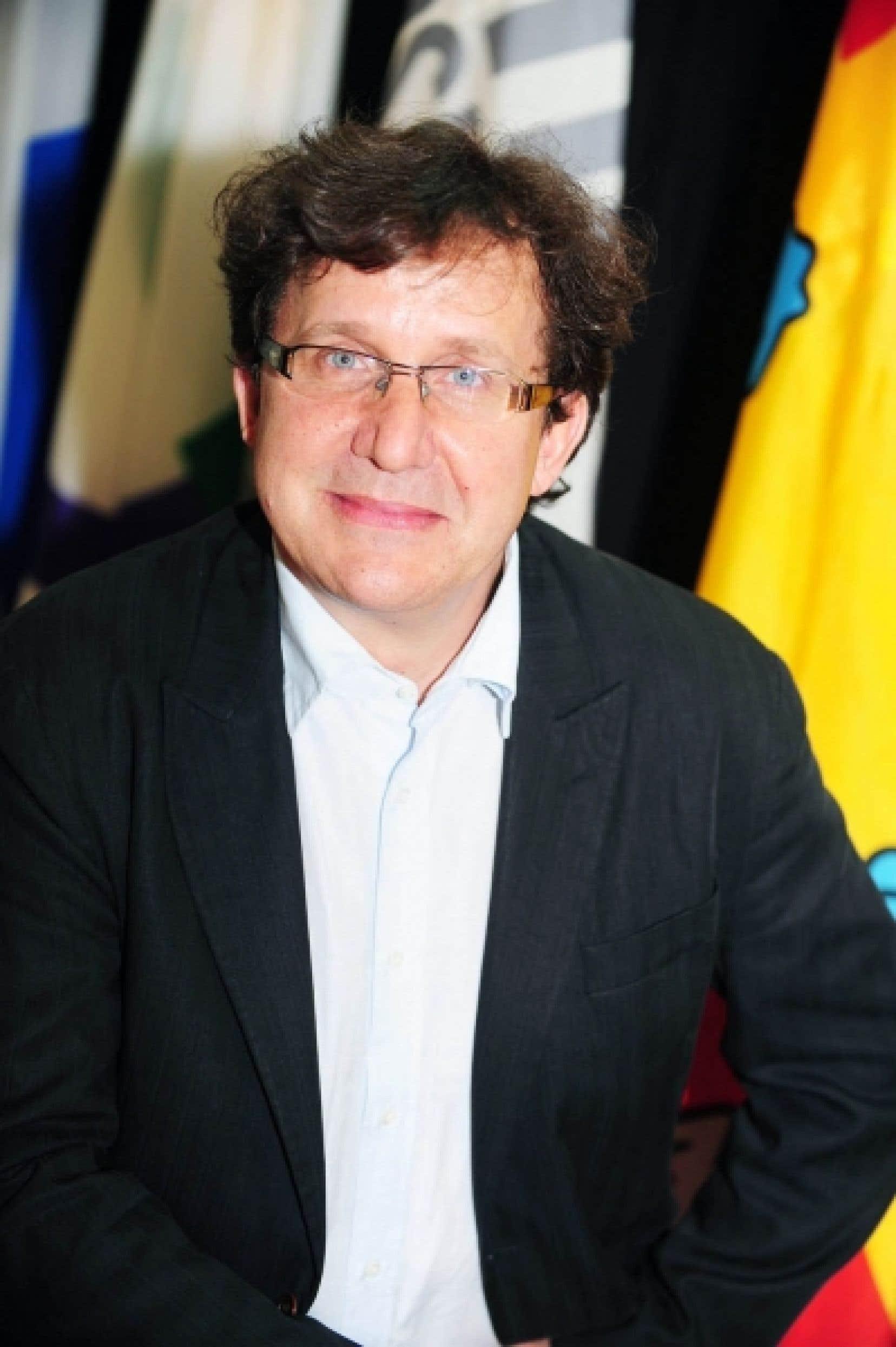 Richard Marcoux, professeur au Département de sociologie de l'Université Laval<br />