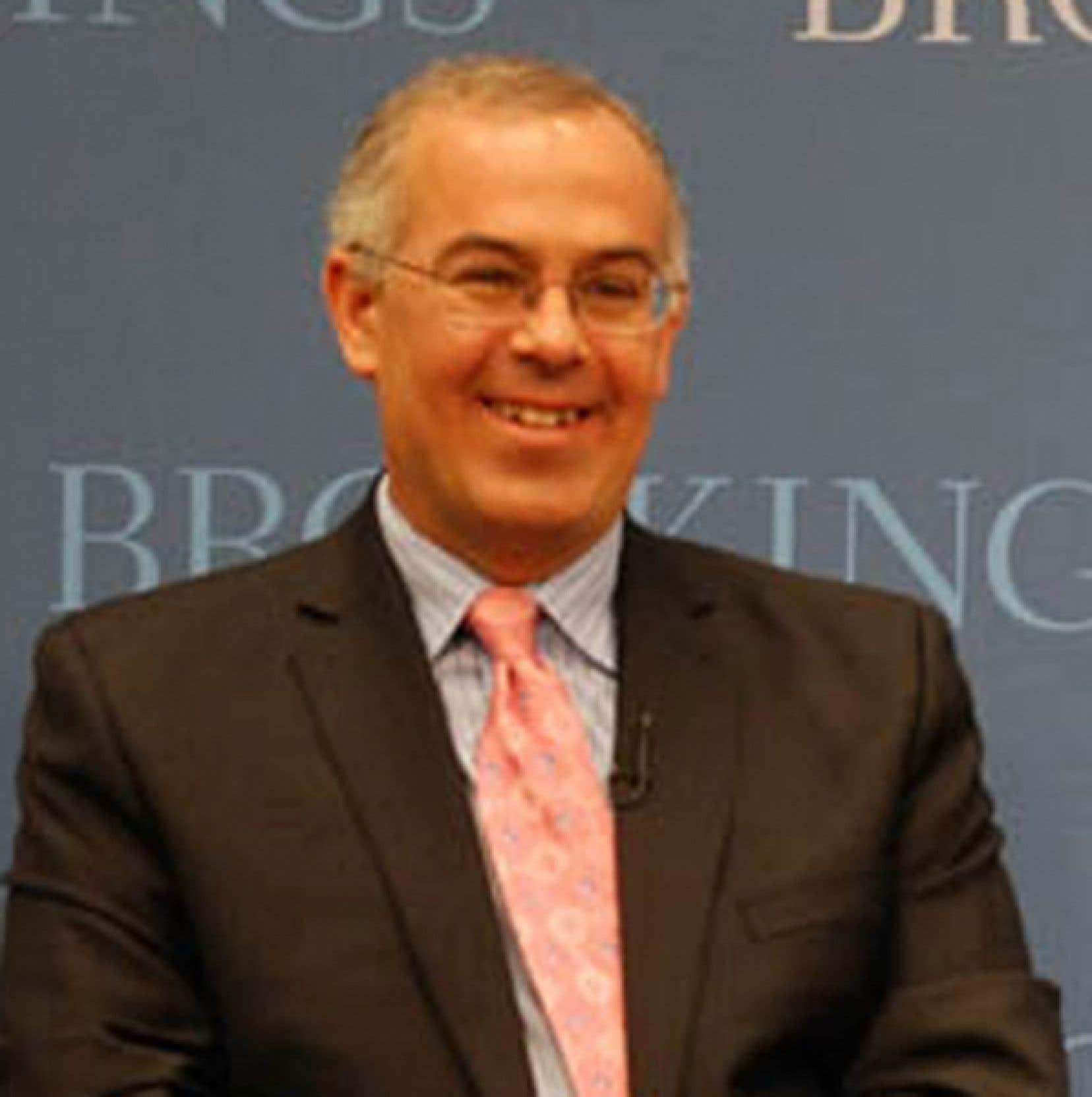 David Brooks, chroniqueur au New York Times<br />