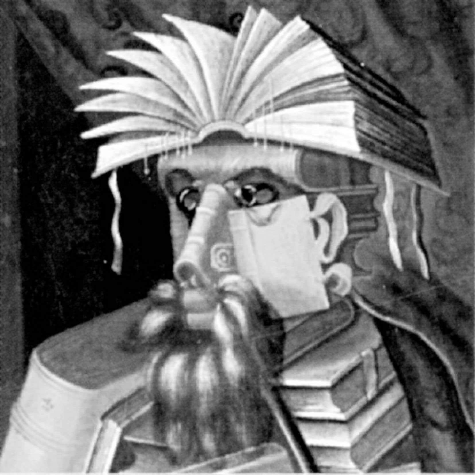 Le Libraire, Arcimboldo, 1566<br />