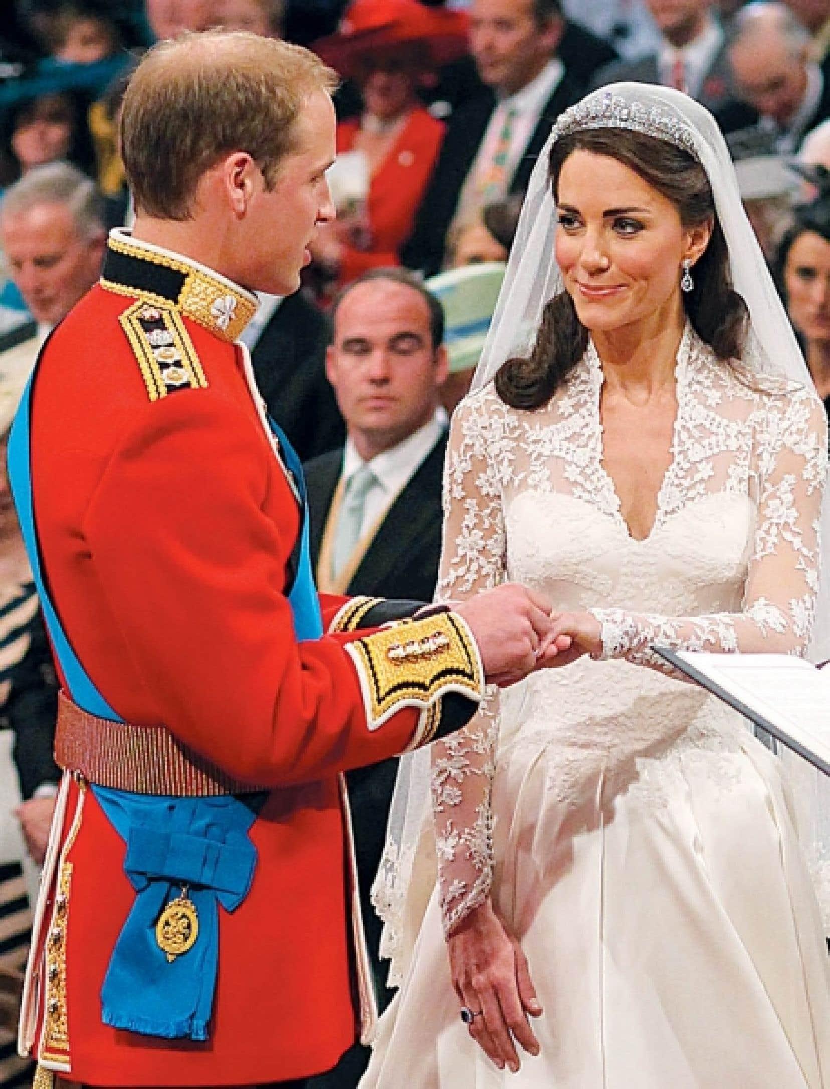 Le prince William et Kate Middleton<br />