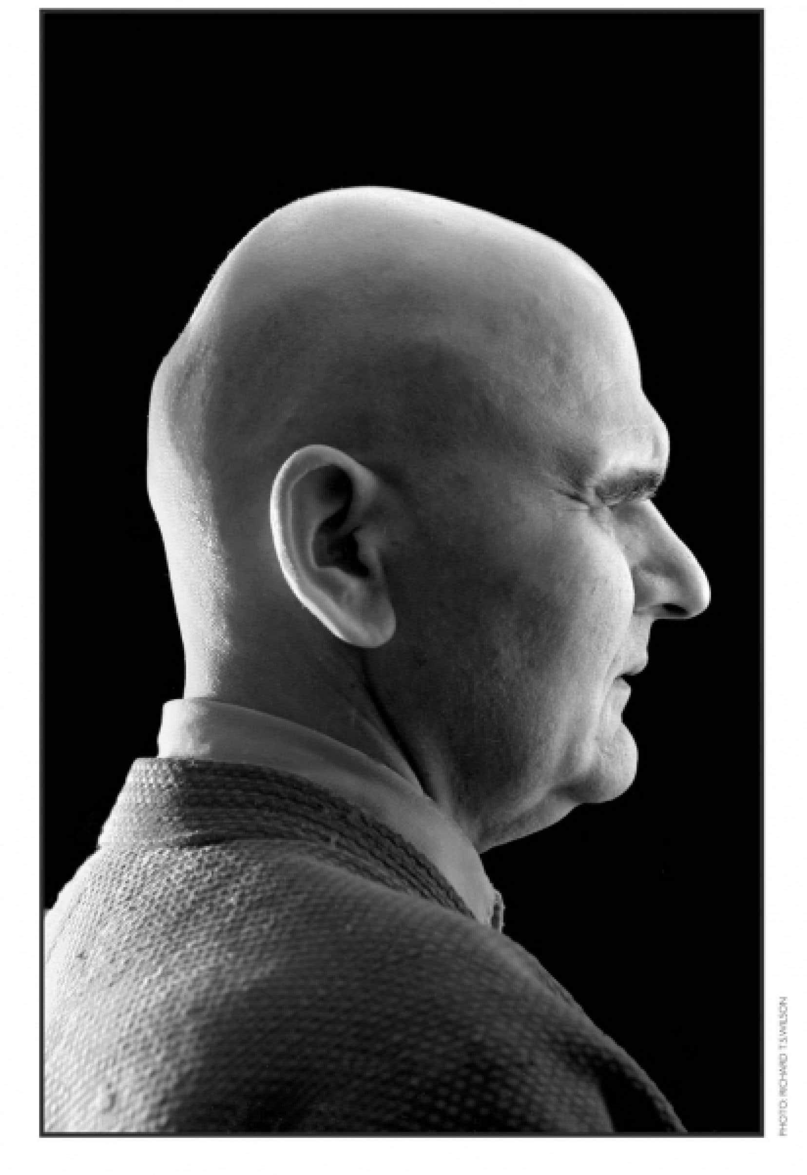 Portrait de John Max par le photographe Richard Wilson.