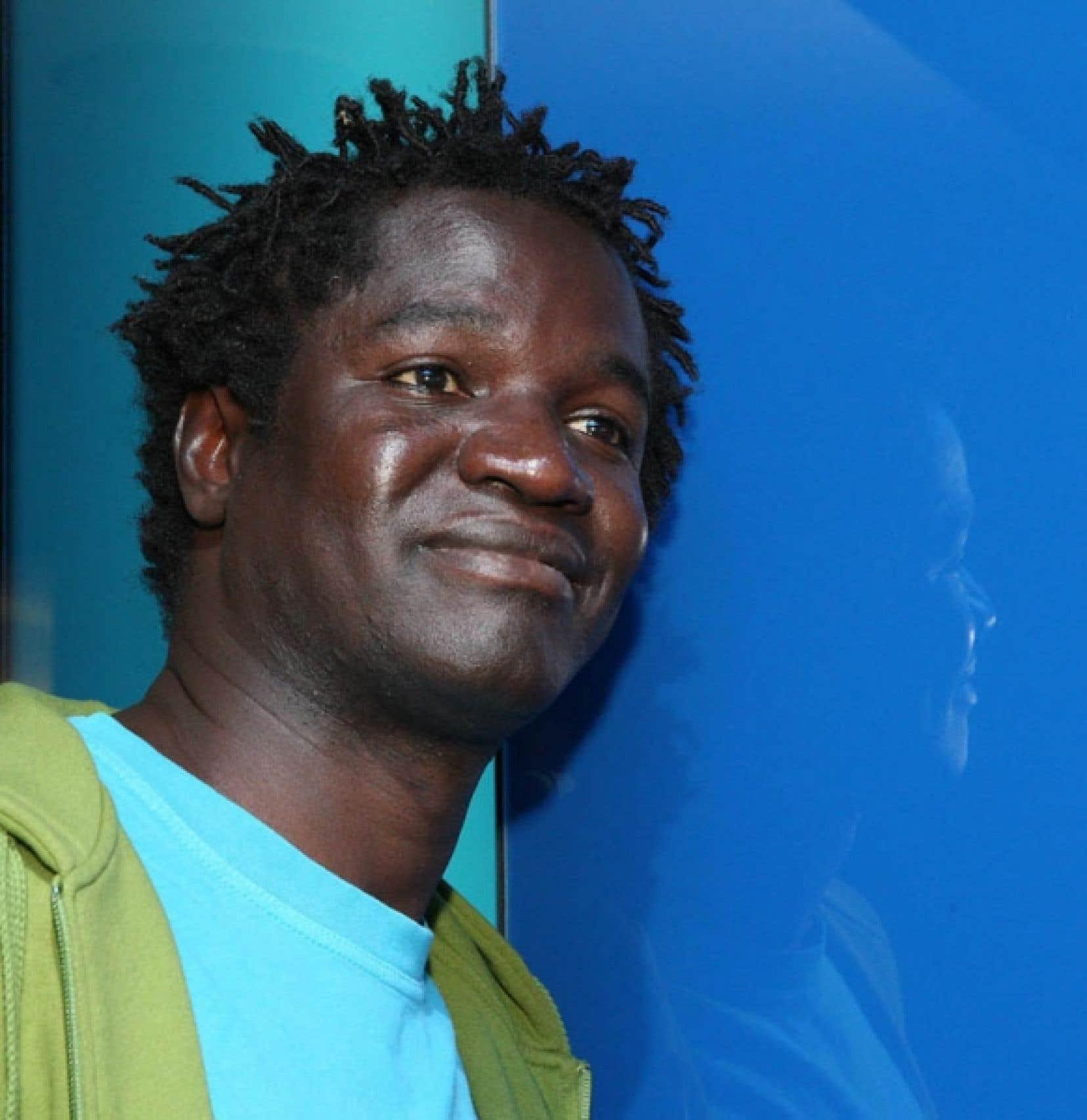Boucar Diouf, animateur &agrave; la t&eacute;l&eacute;vision et docteur en oc&eacute;anographie<br />