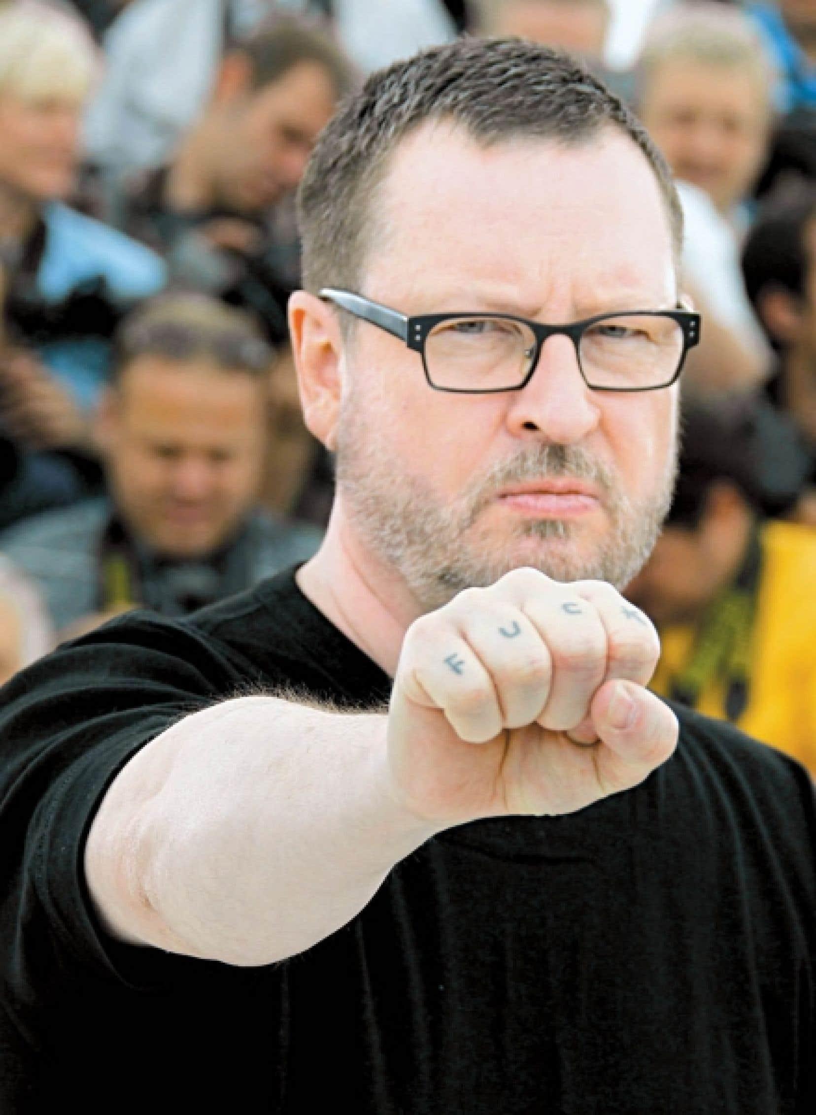 Lars von Trier hier à Cannes<br />