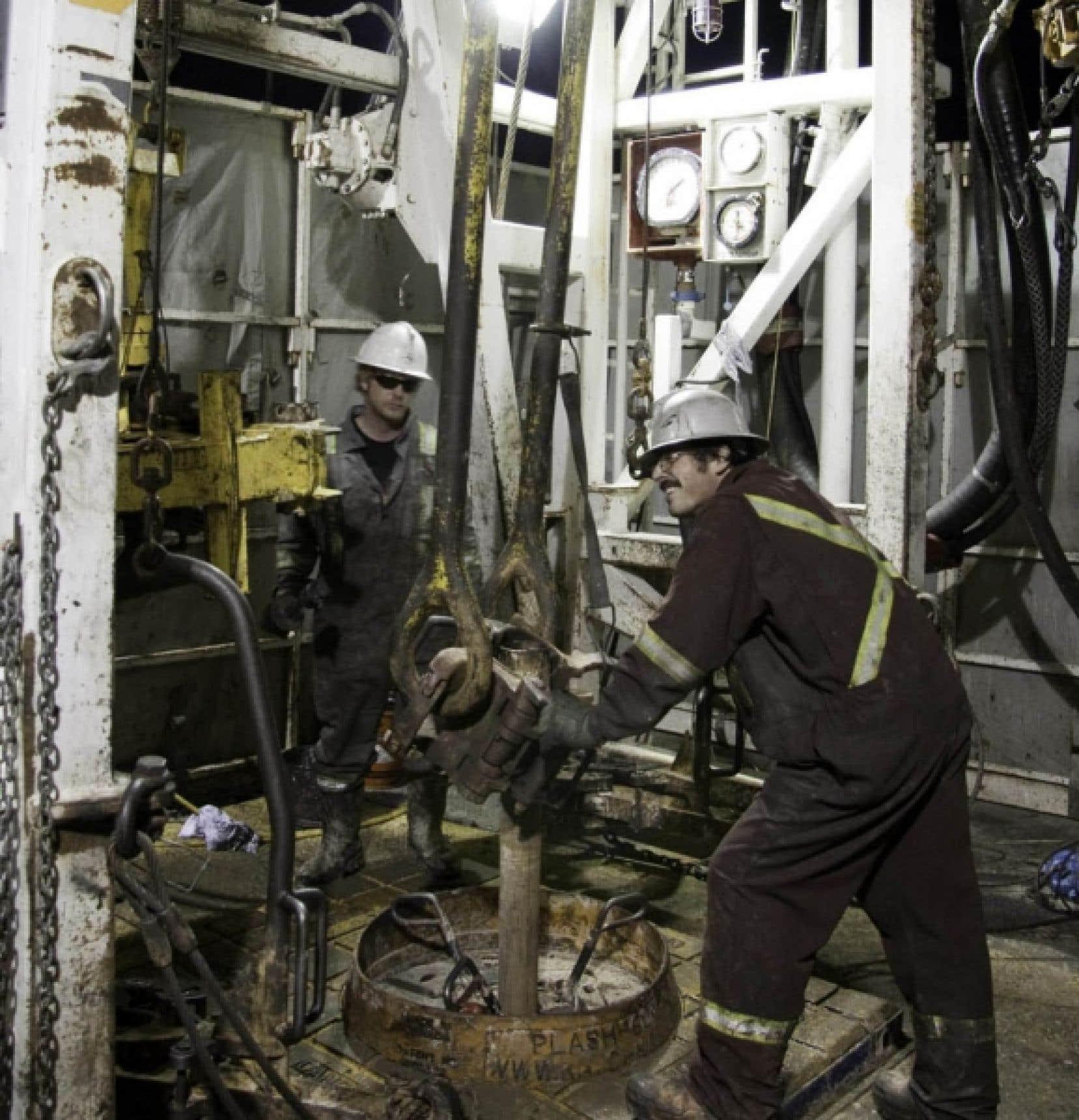 Le puits Haldimand no 1, dans la région de Gaspé, où la compagnie Pétrolia compte extraire une grande quantité de pétrole.<br />