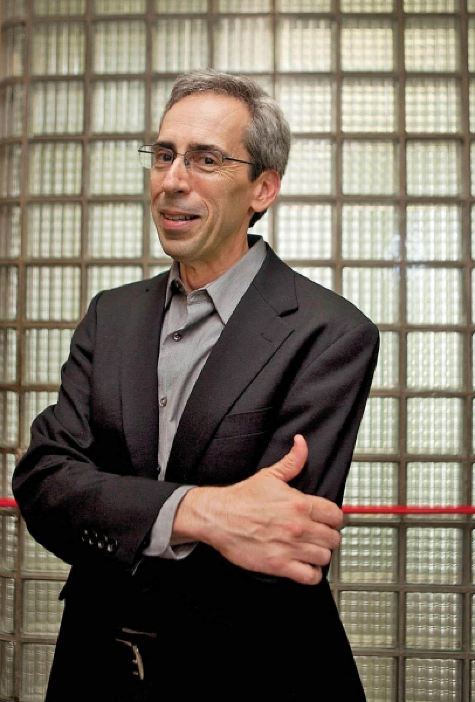 Michel Perreault, professeur de psychiatrie à l'Université McGill, est l'auteur de l'essai <em>Je ne suis pas une compagnie.</em><br />
