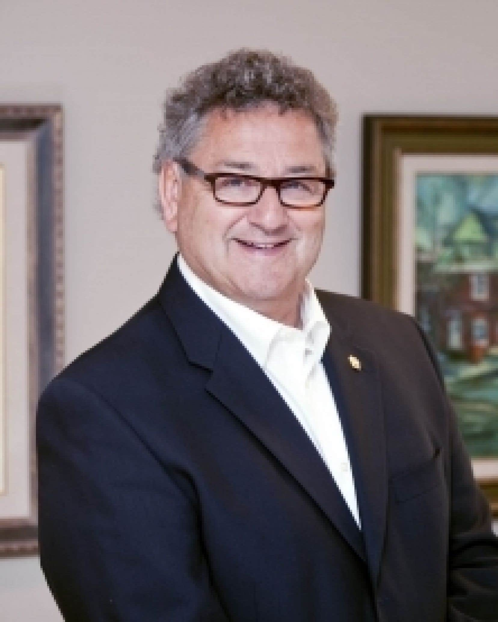 Le président de l'UMQ et maire de Rimouski, Éric Forest.