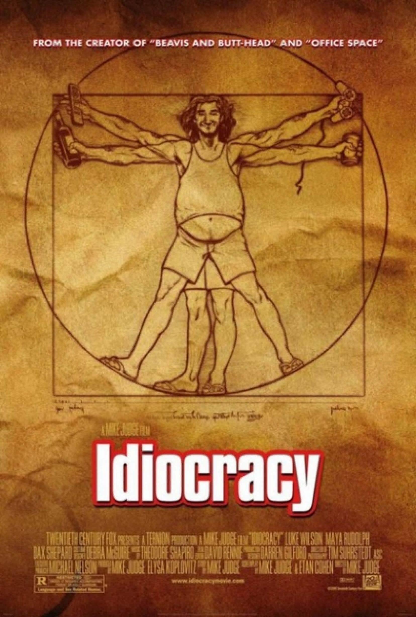Avec son film Idiocracy, sorti en 2006, Mike Judge a donné des ailes au concept d'idiocratie qui nomme ces sociétés trop influencées par le vide, les jugements moraux à l'emporte-pièce et la censure qui en découle, au point d'en devenir aussi grotesques que dangereuses.<br />