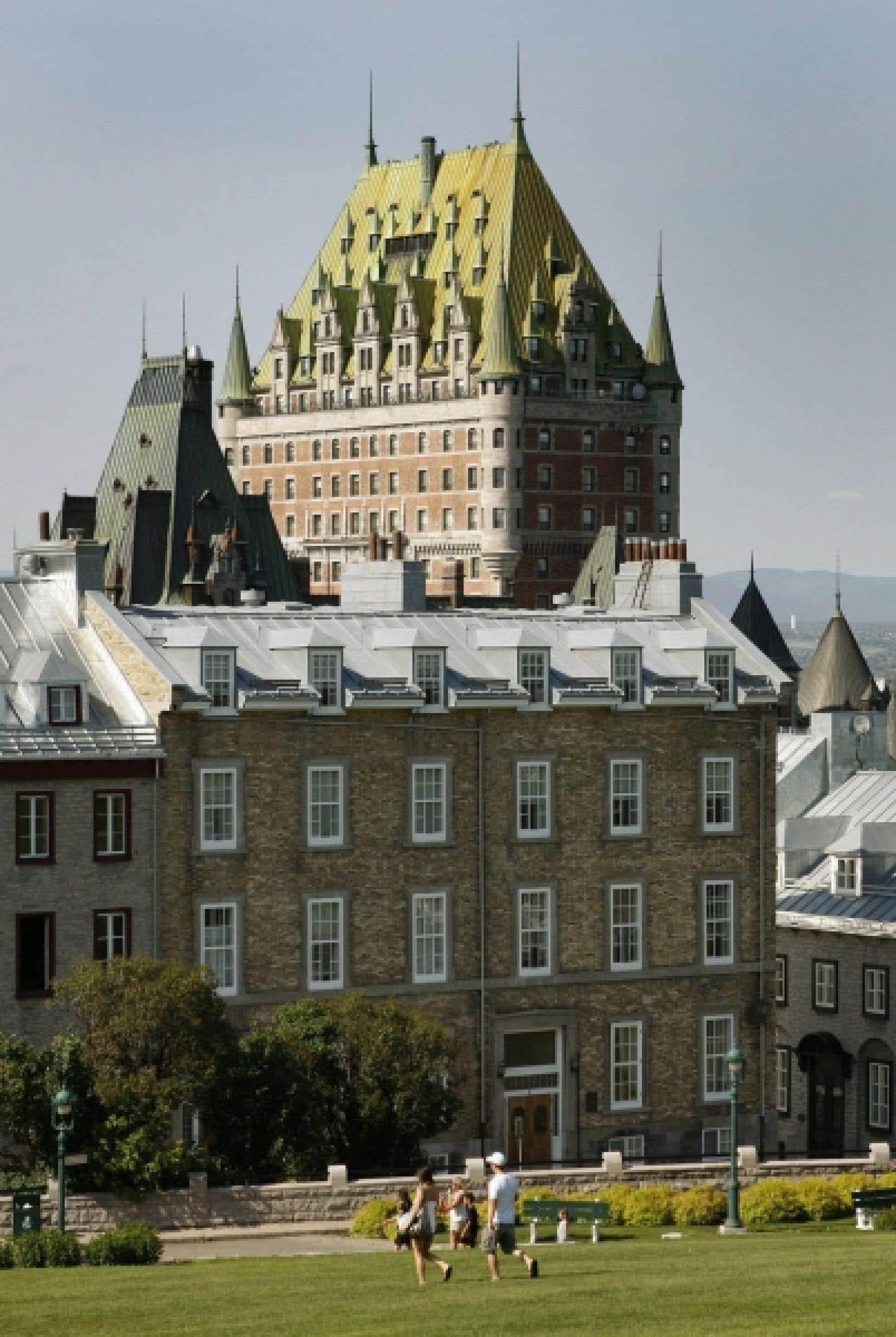 Pour des raisons logistiques, le congrès de la Fédération québécoise des municipalités se tient à Québec.
