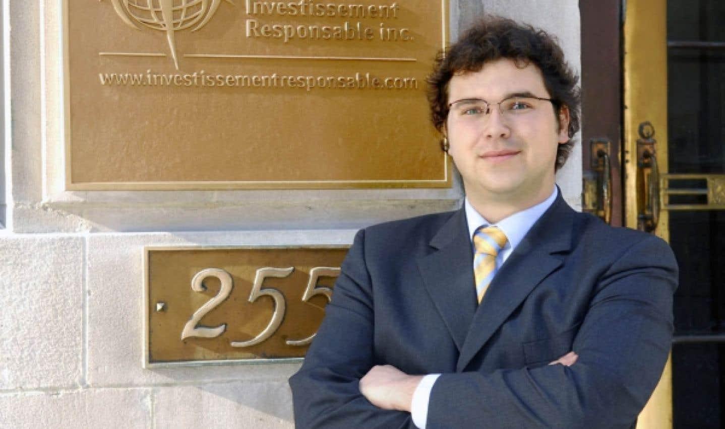 Olivier Gamache, président-directeur général du Groupe investissement responsable (GIR)