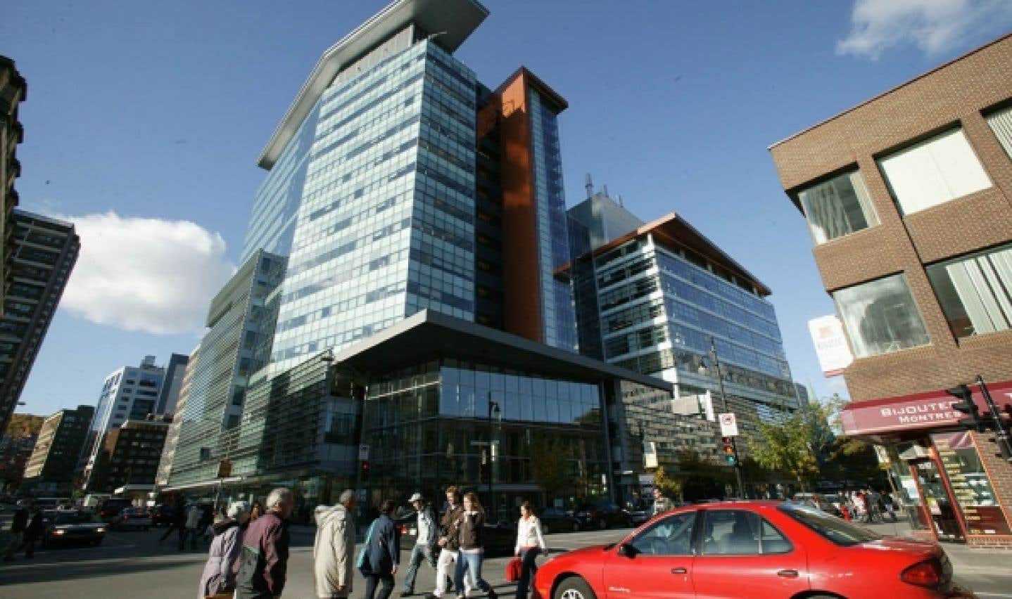 Un des pavillons de l'Université Concordia, au centre-ville de Montréal