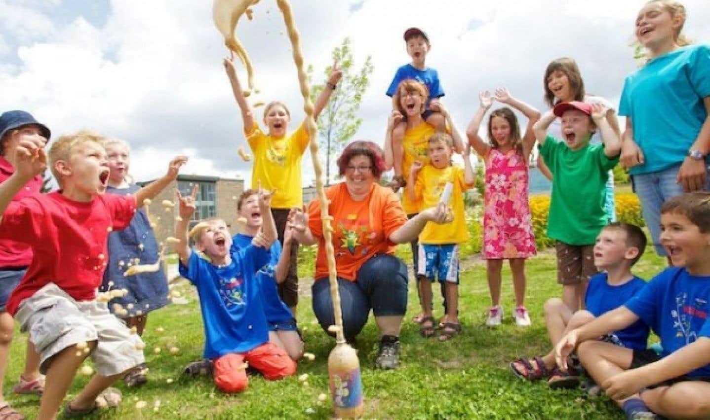 Chaque année, près de 42 000 jeunes participent à l'une ou l'autre des activités offertes par le Club des Débrouillards