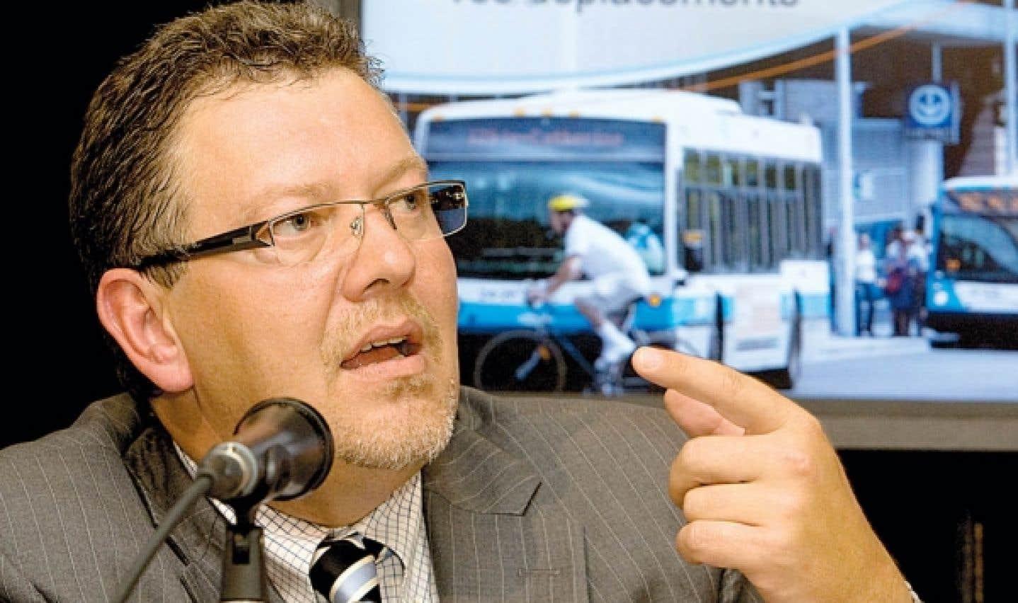 Démission du p.-d.g. de l'AMT - Joël Gauthier a été blâmé par Québec pour le dépassement des coûts du projet de train de l'Est
