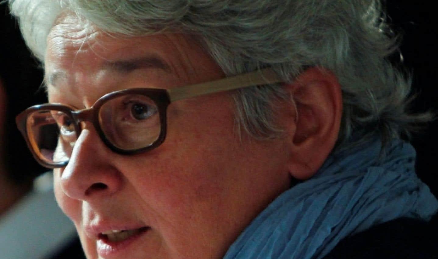 Denise Boucher, vice-présidente de la CSN