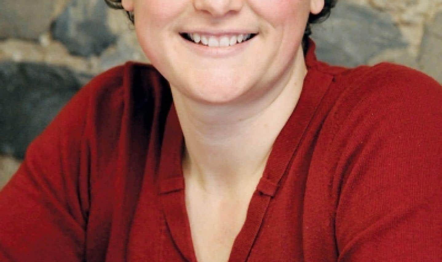 Alexa Conradi, présidente de la Fédération des femmes du Québec et représentante jeunesse
