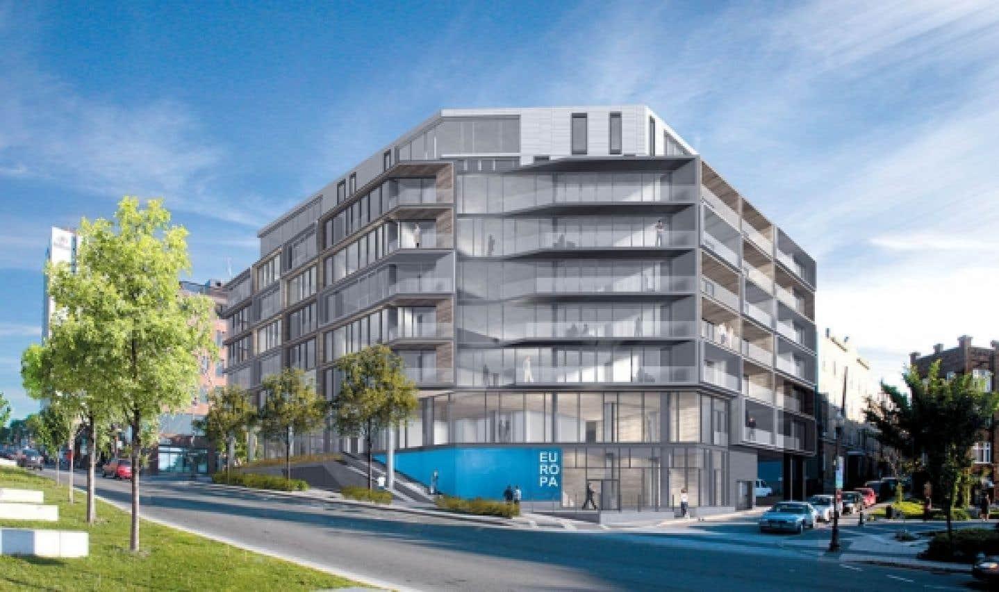 L'entreprise est dans sa deuxième phase et se concentre sur des constructions nouvelles qui prendront place sur des terrains de choix disponibles, comme celle de l'îlot d'Aiguillon, à l'entrée du Vieux-Québec.