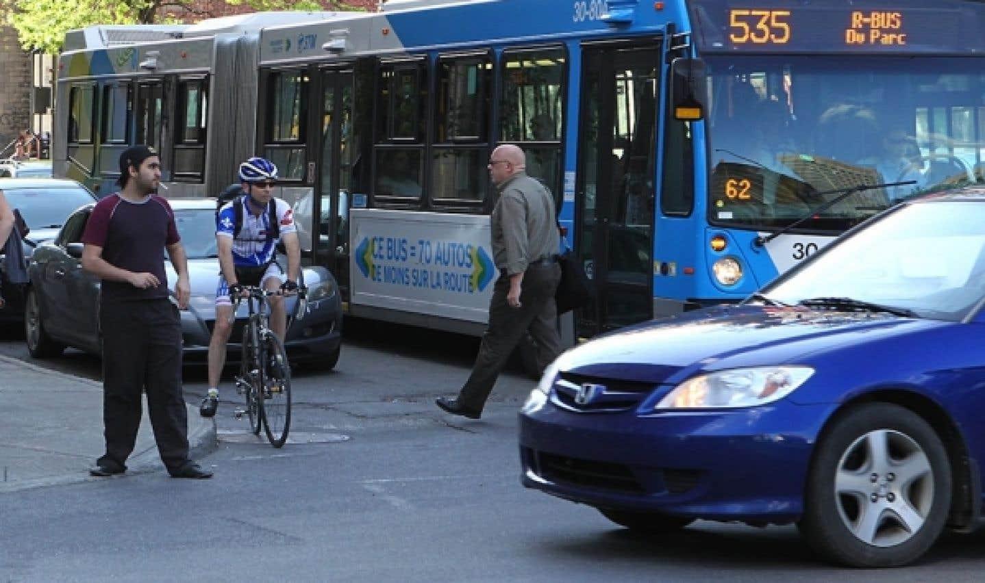 L'utilisation du transport en commun a grimpé de 11 % depuis 2006