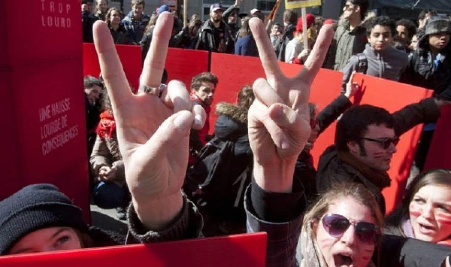 Droits de scolarité, les étudiants rejettent