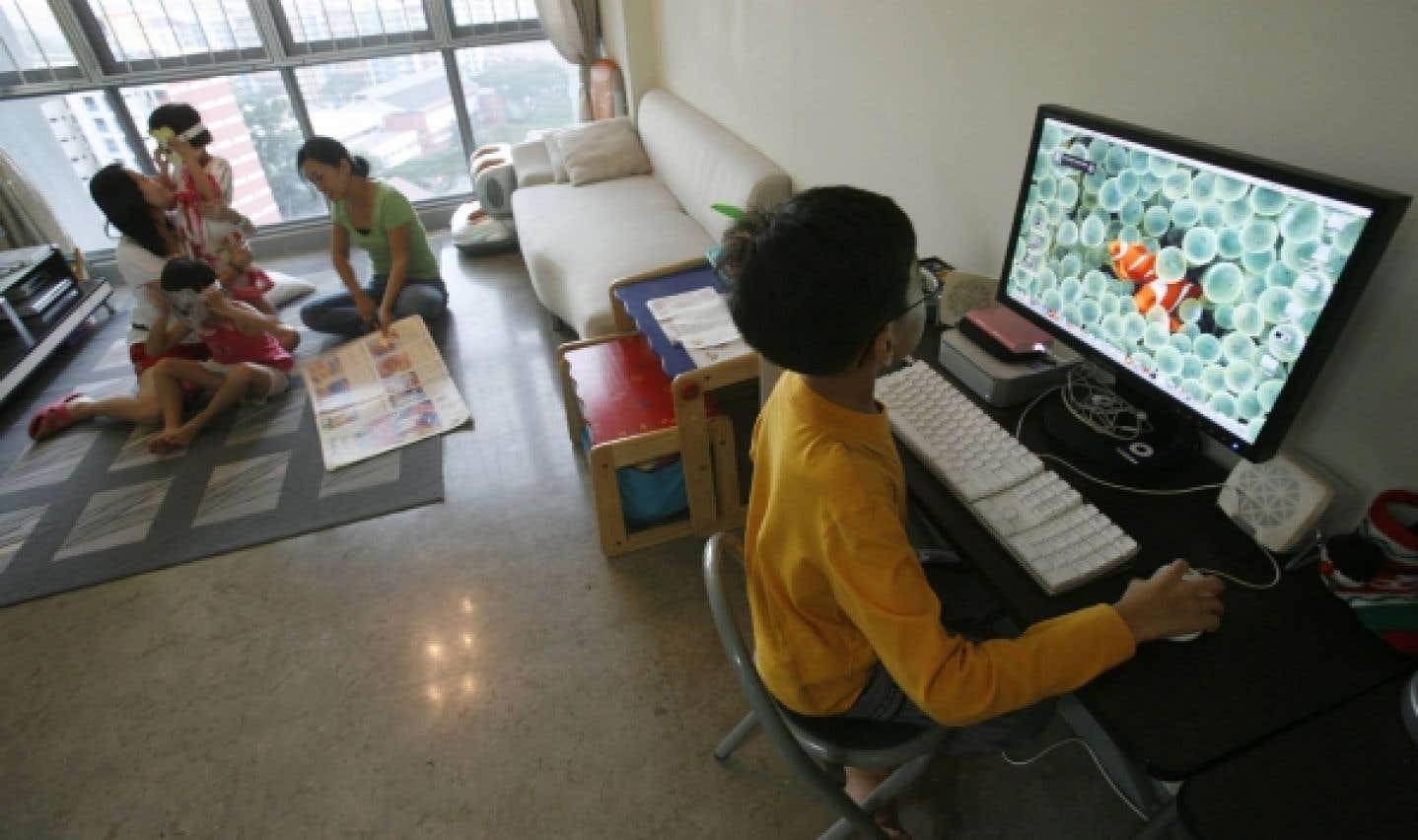 Les parents d'un garçon investissent quatre fois plus dans des gadgets informatiques que lorsqu'ils ont une fille, fait remarquer Christina Haralanova.