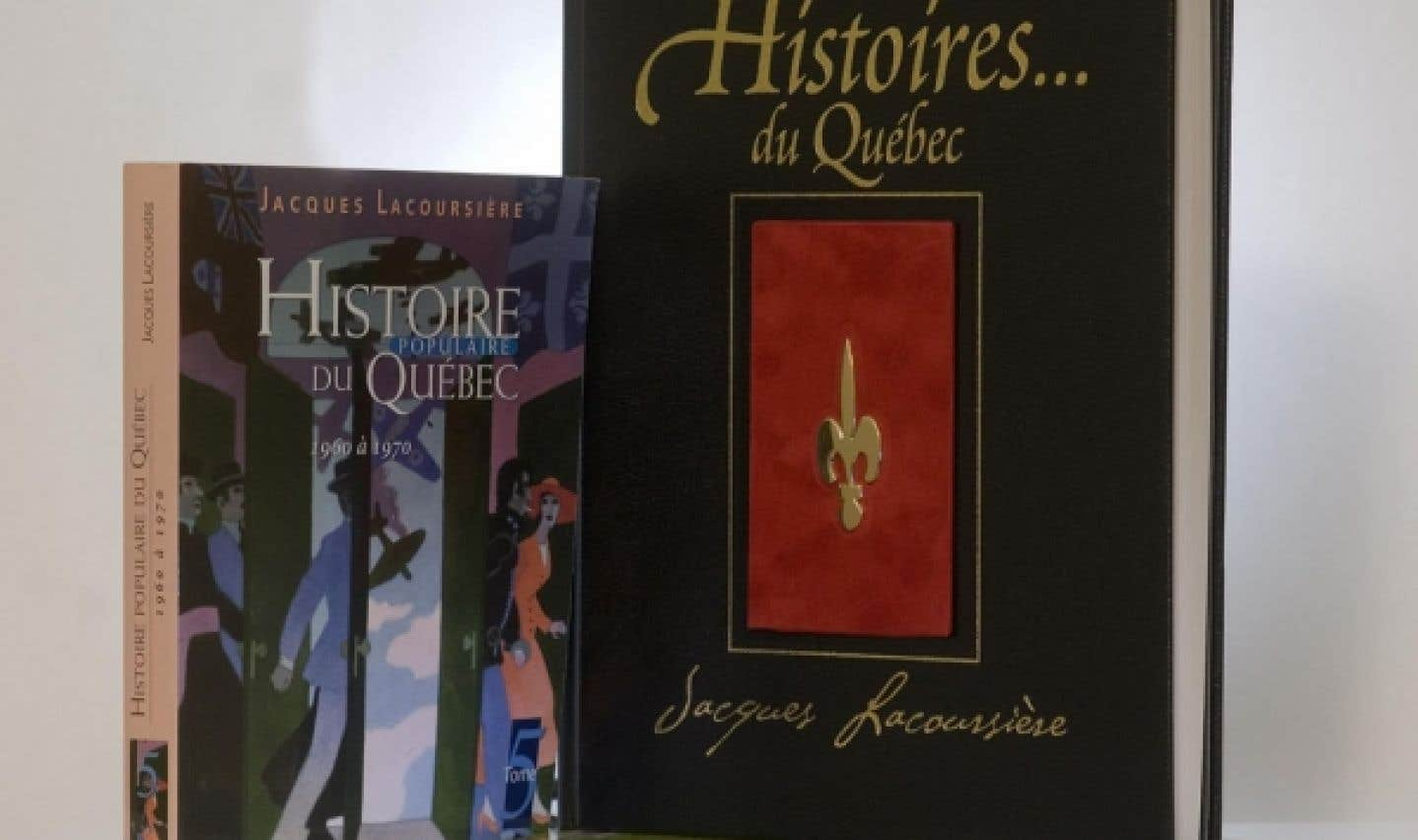 Ouvrages de Jacques Lacoursière sur l'histoire du Québec