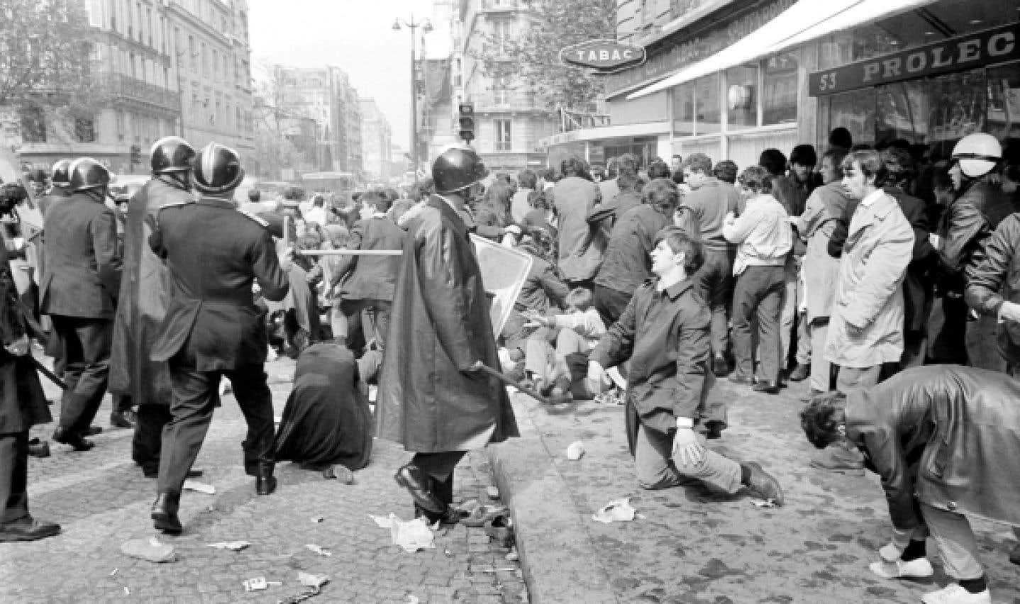 Crise étudiante - Mai 68, en gros