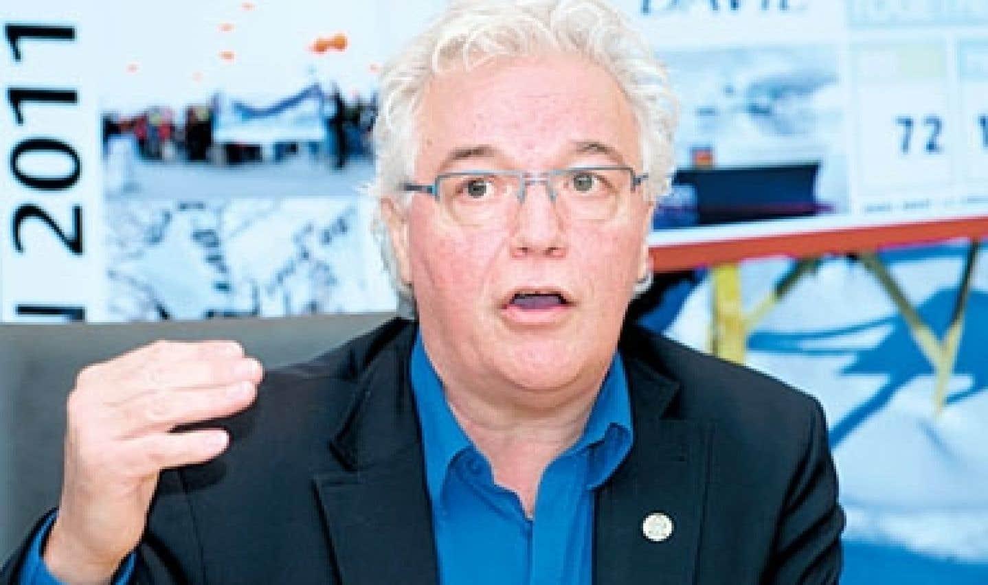 Le président de la CSN, Louis Roy