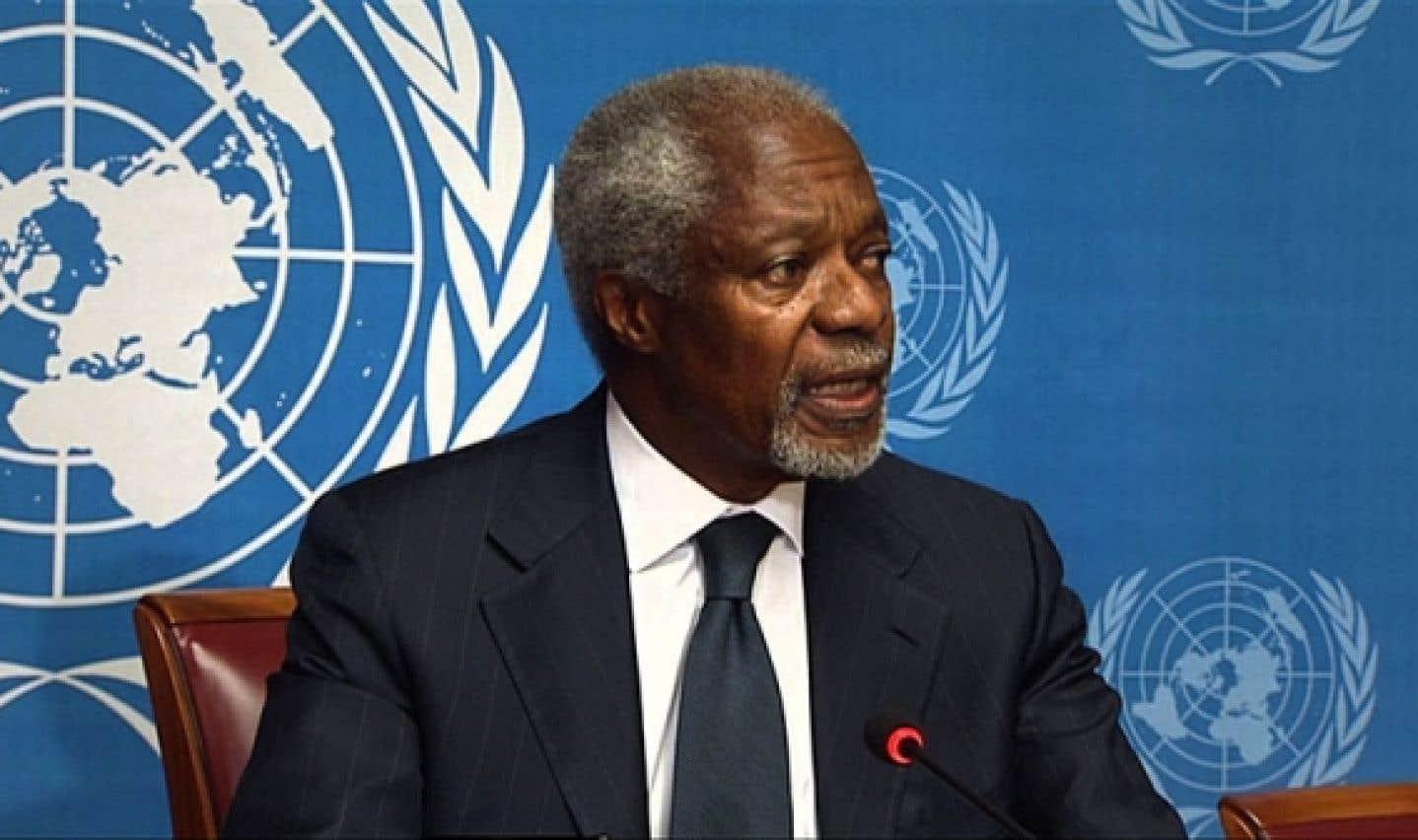 Syrie - Kofi Annan renonce à sa mission