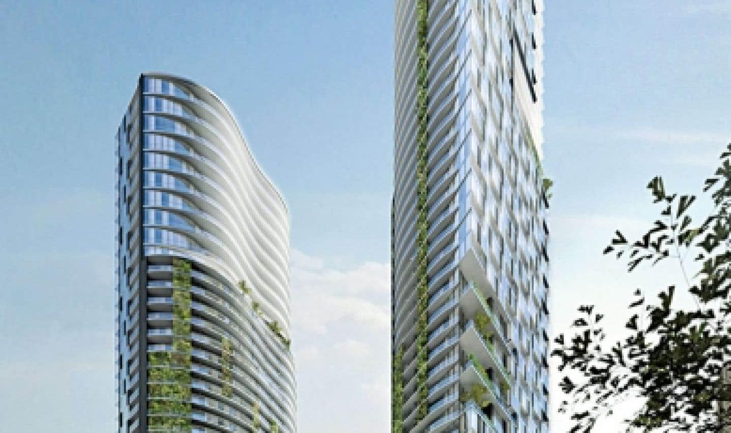 Le projet Condos Univers, au centre-ville de Montréal